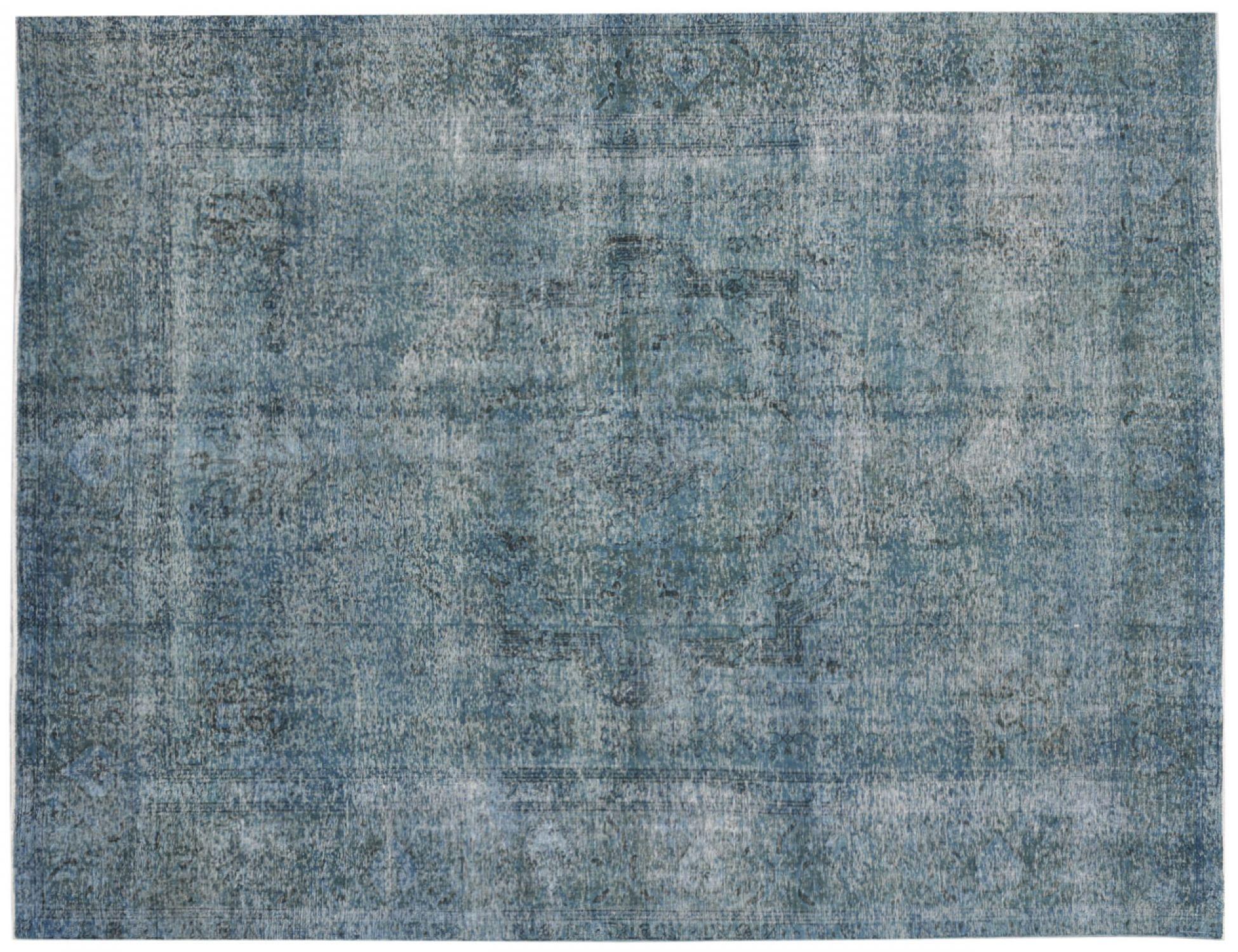 Vintage Teppich  blau <br/>375 x 282 cm