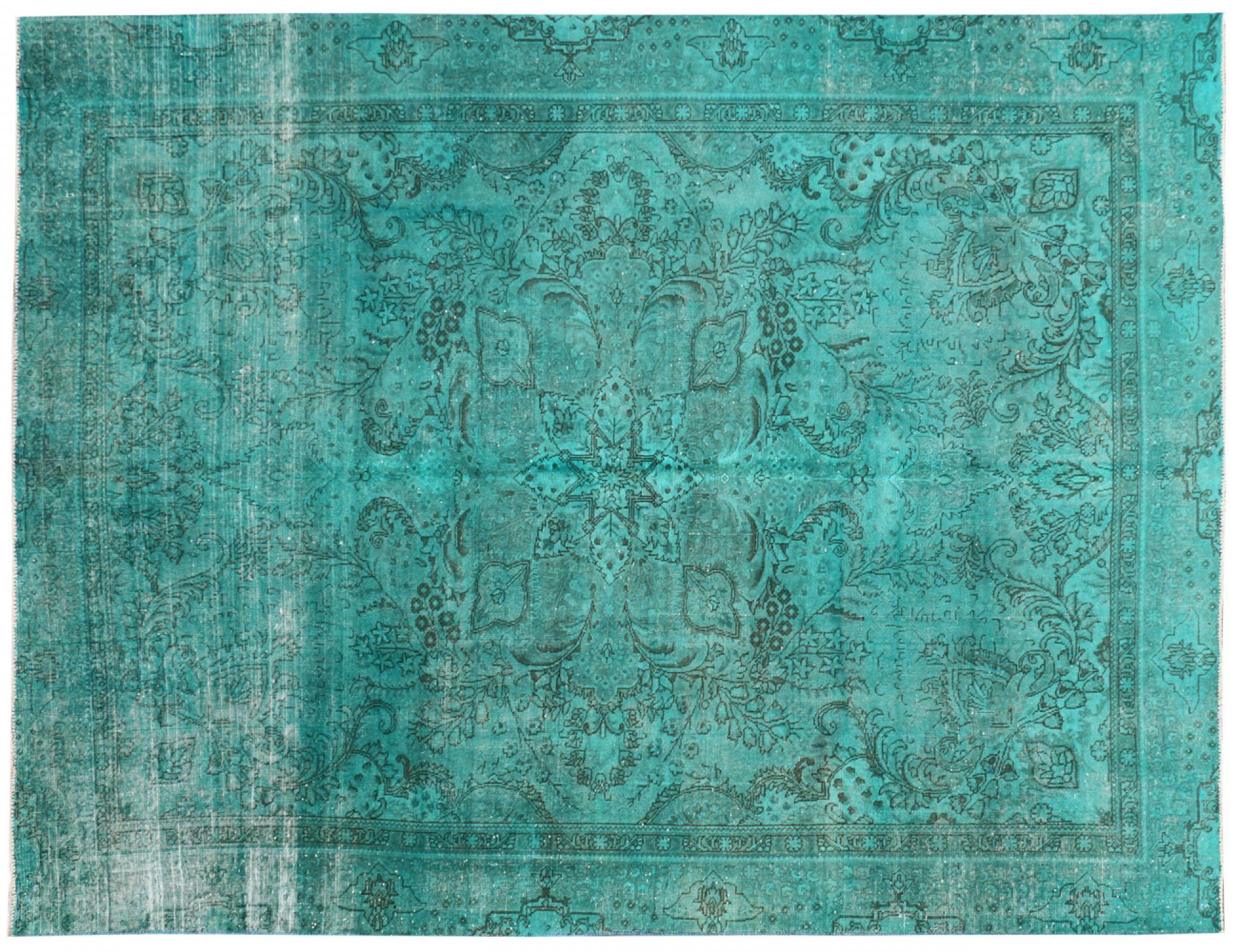 Vintage Tapis  vert <br/>362 x 268 cm