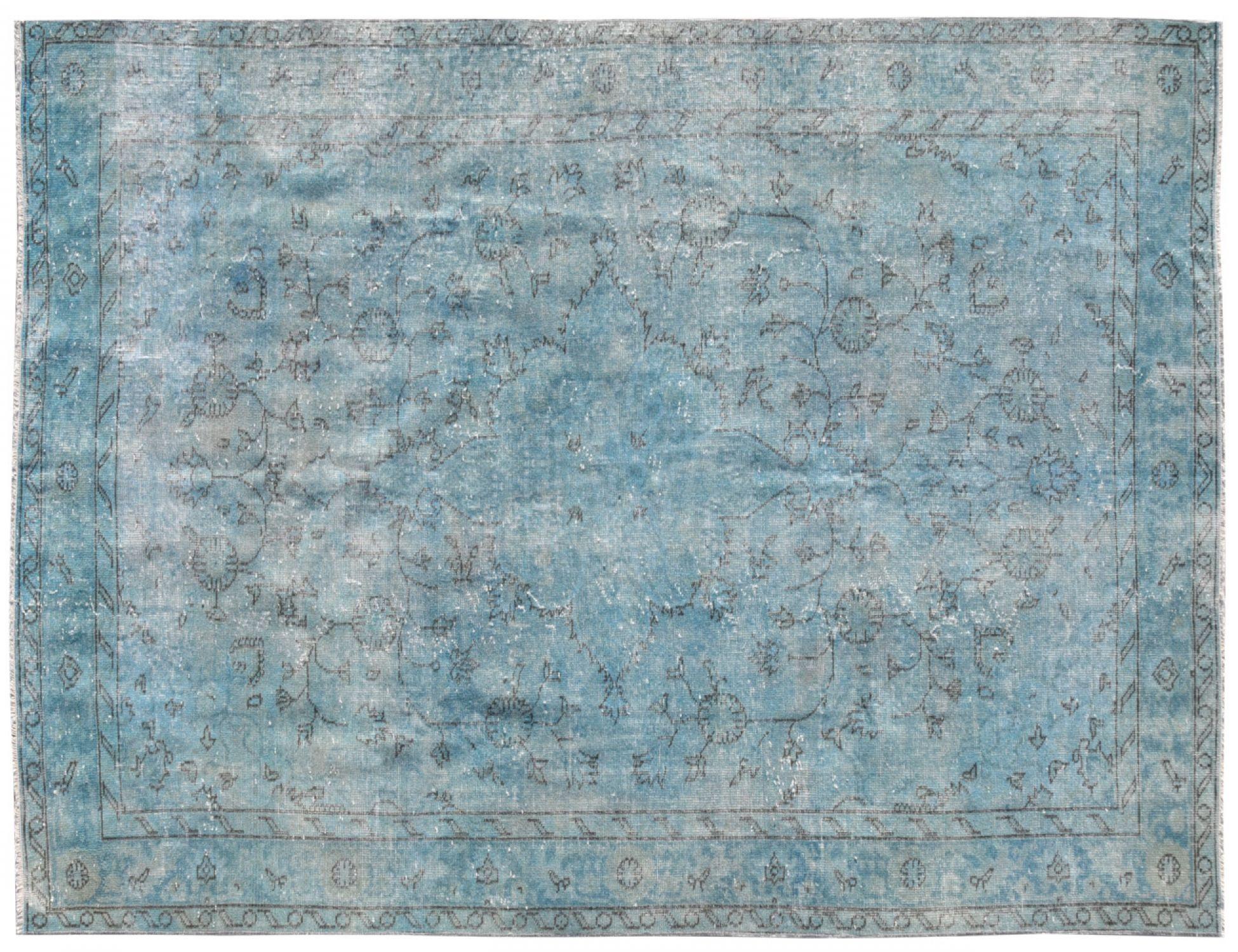 Vintage Teppich  blau <br/>270 x 164 cm