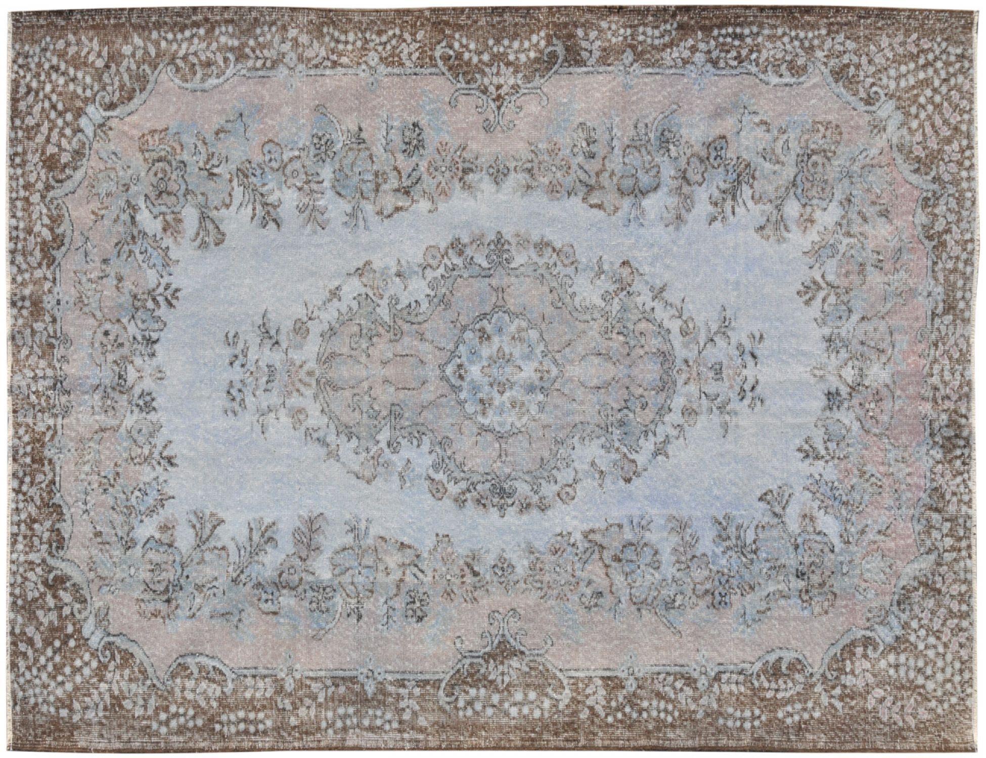 Vintage Teppich  blau <br/>288 x 180 cm