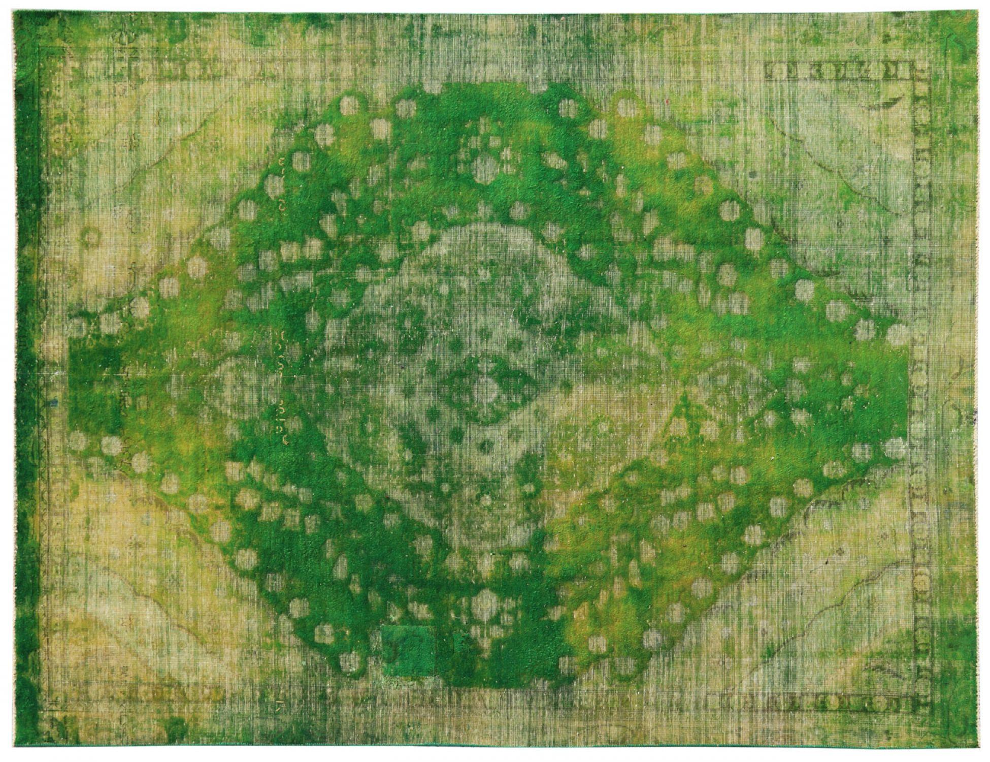 Vintage Teppich  grün <br/>318 x 228 cm
