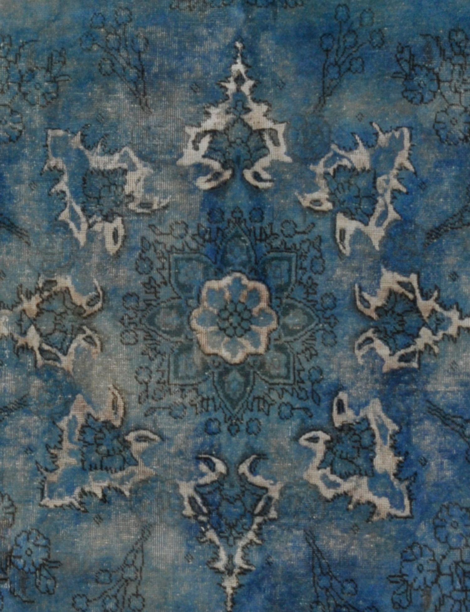 Vintage Perserteppich  türkis <br/>275 x 197 cm