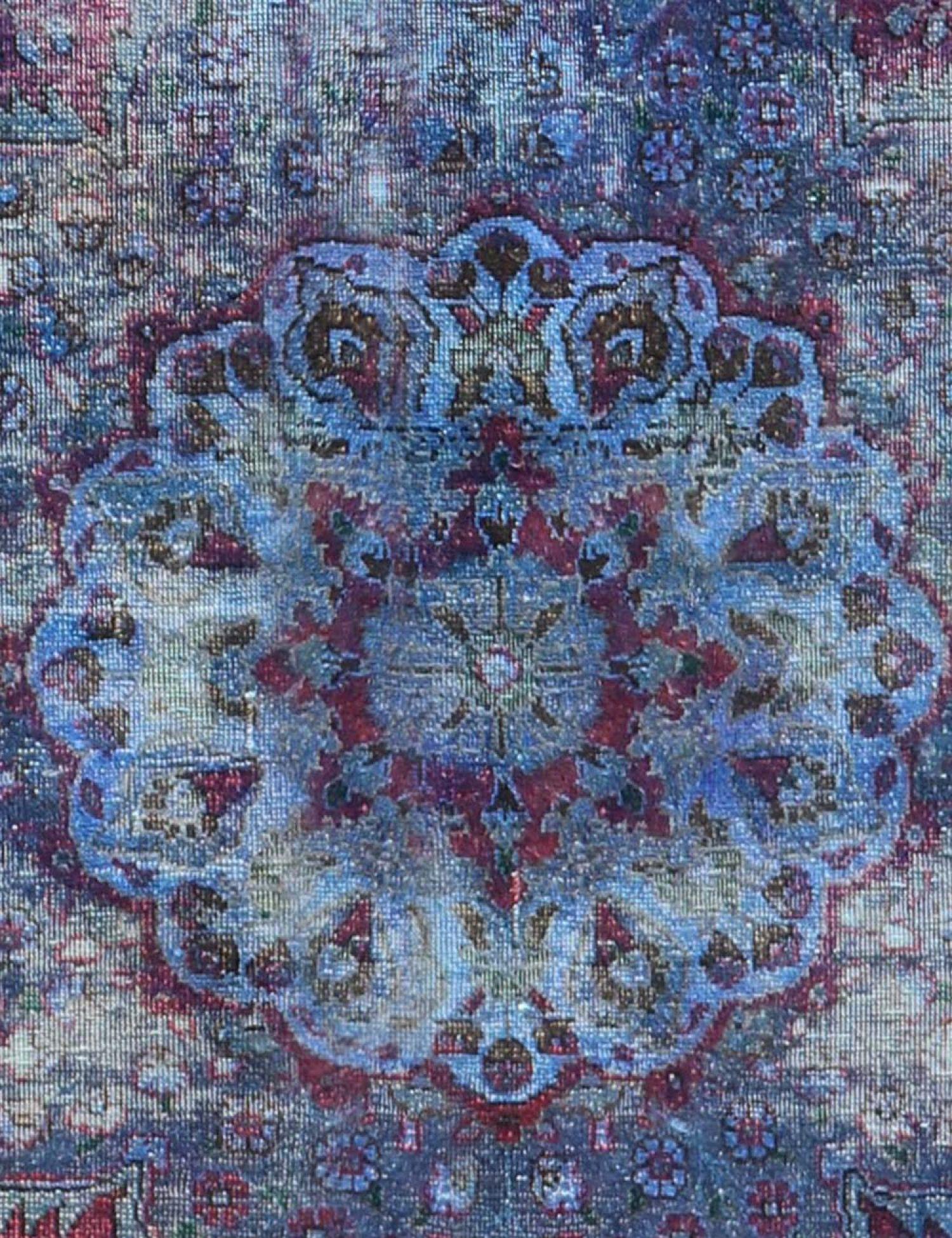 Tappeto Vintage  blu <br/>347 x 258 cm