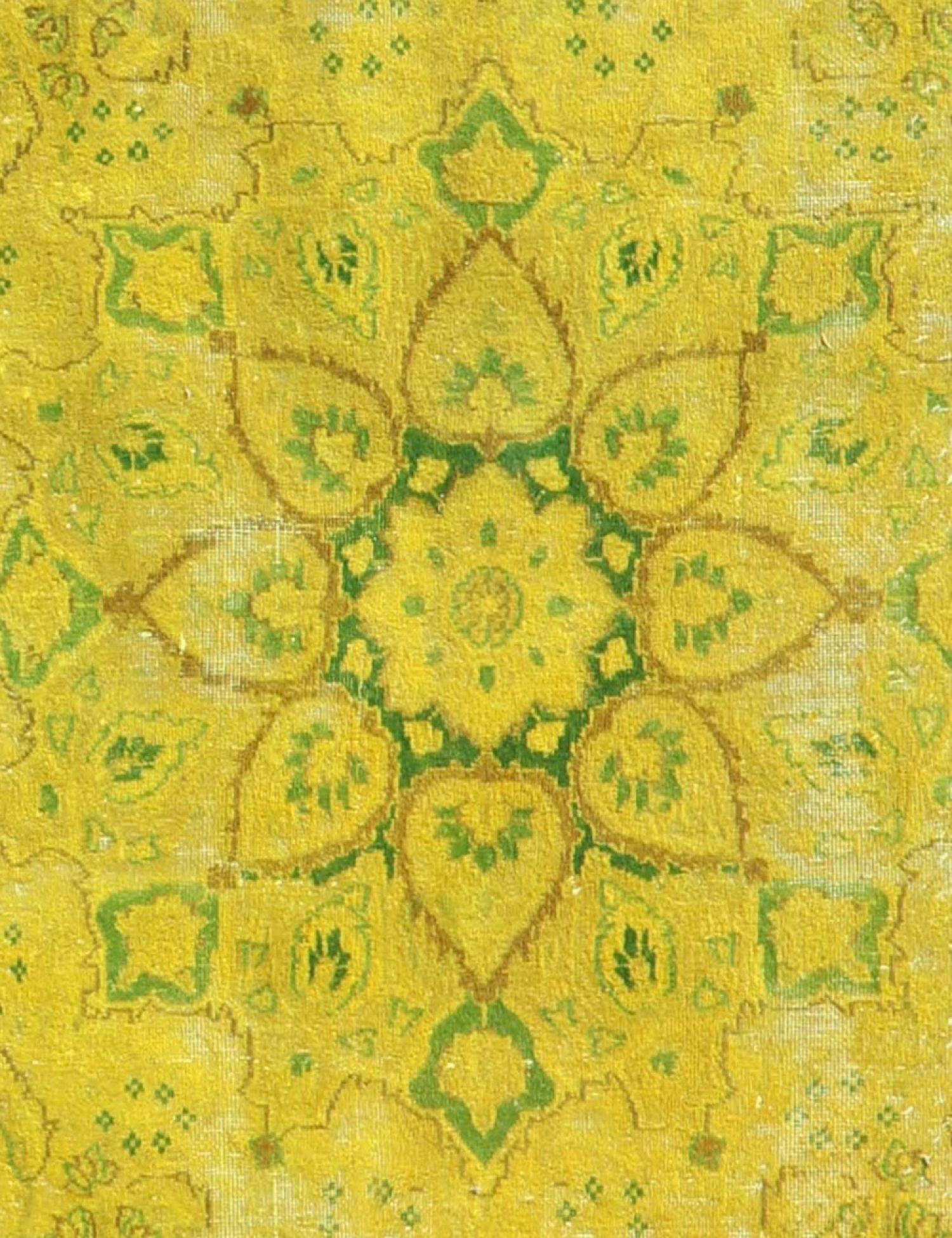 Vintage Teppich  gelb <br/>377 x 292 cm