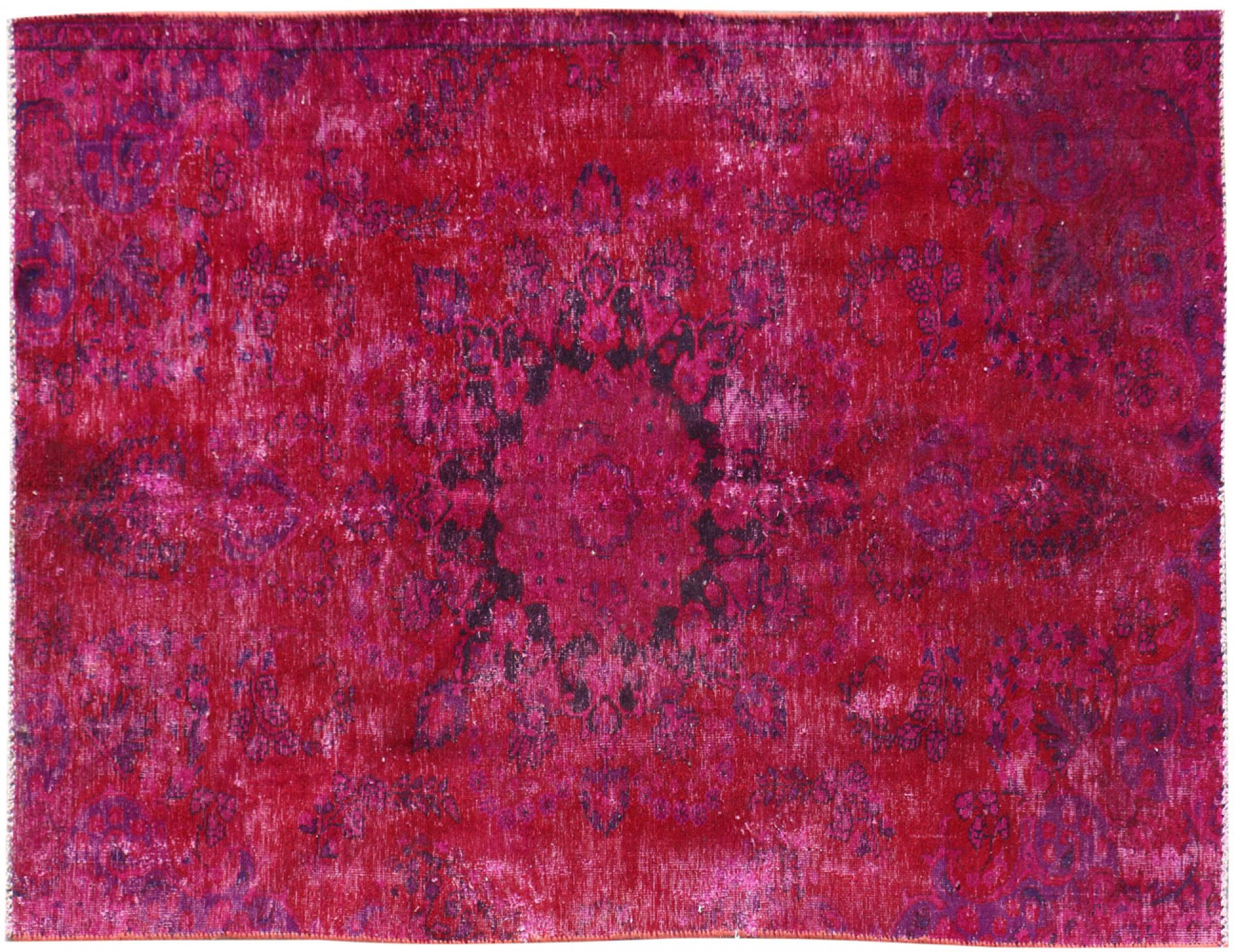 Vintage Matta  röd <br/>210 x 120 cm