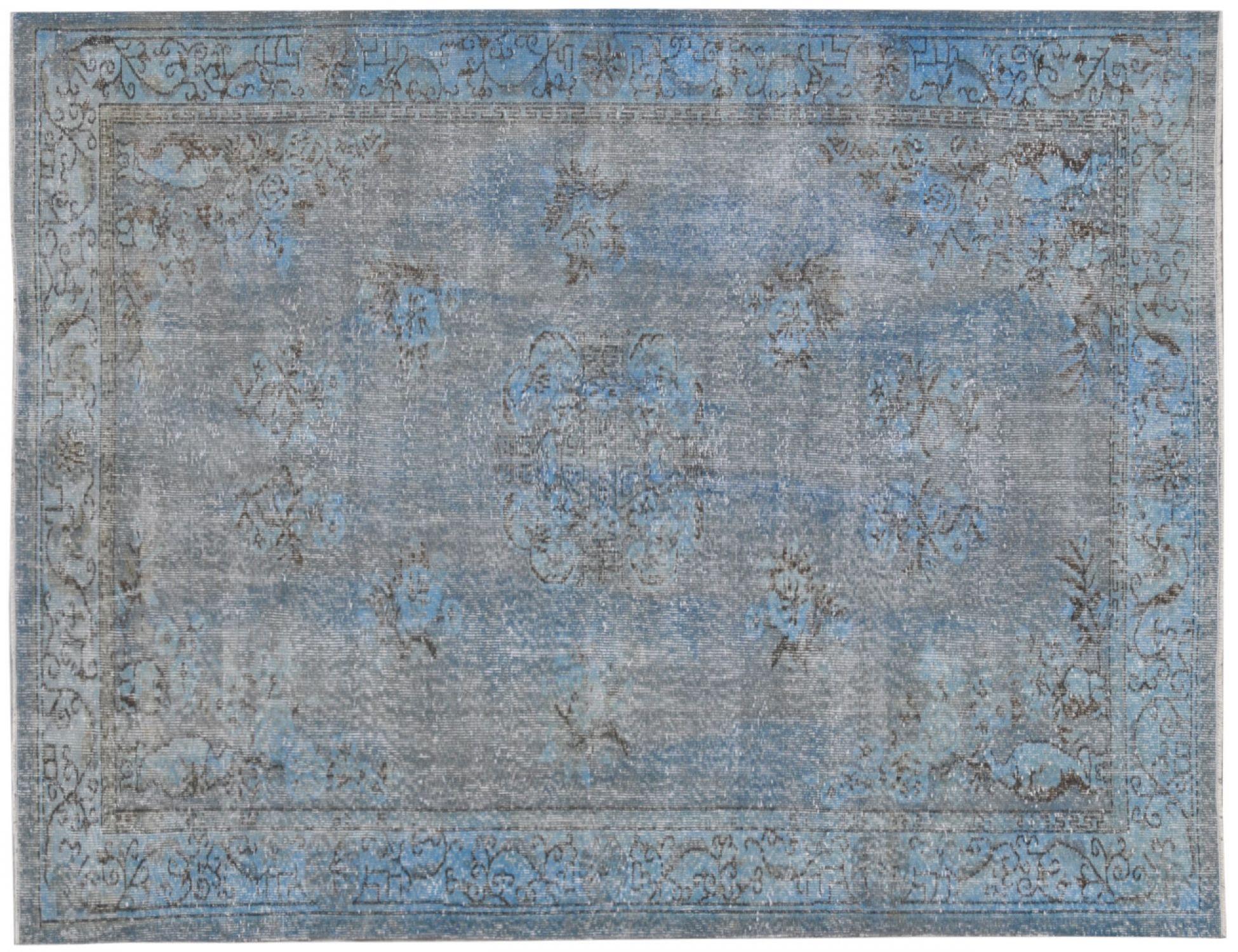 Vintage Matta  blå <br/>282 x 164 cm