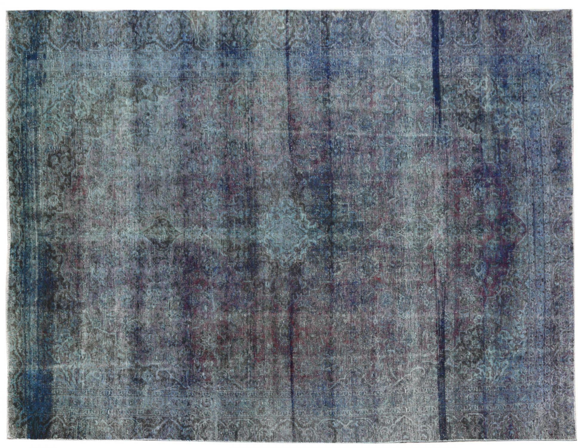 Vintage Matta  blå <br/>350 x 250 cm