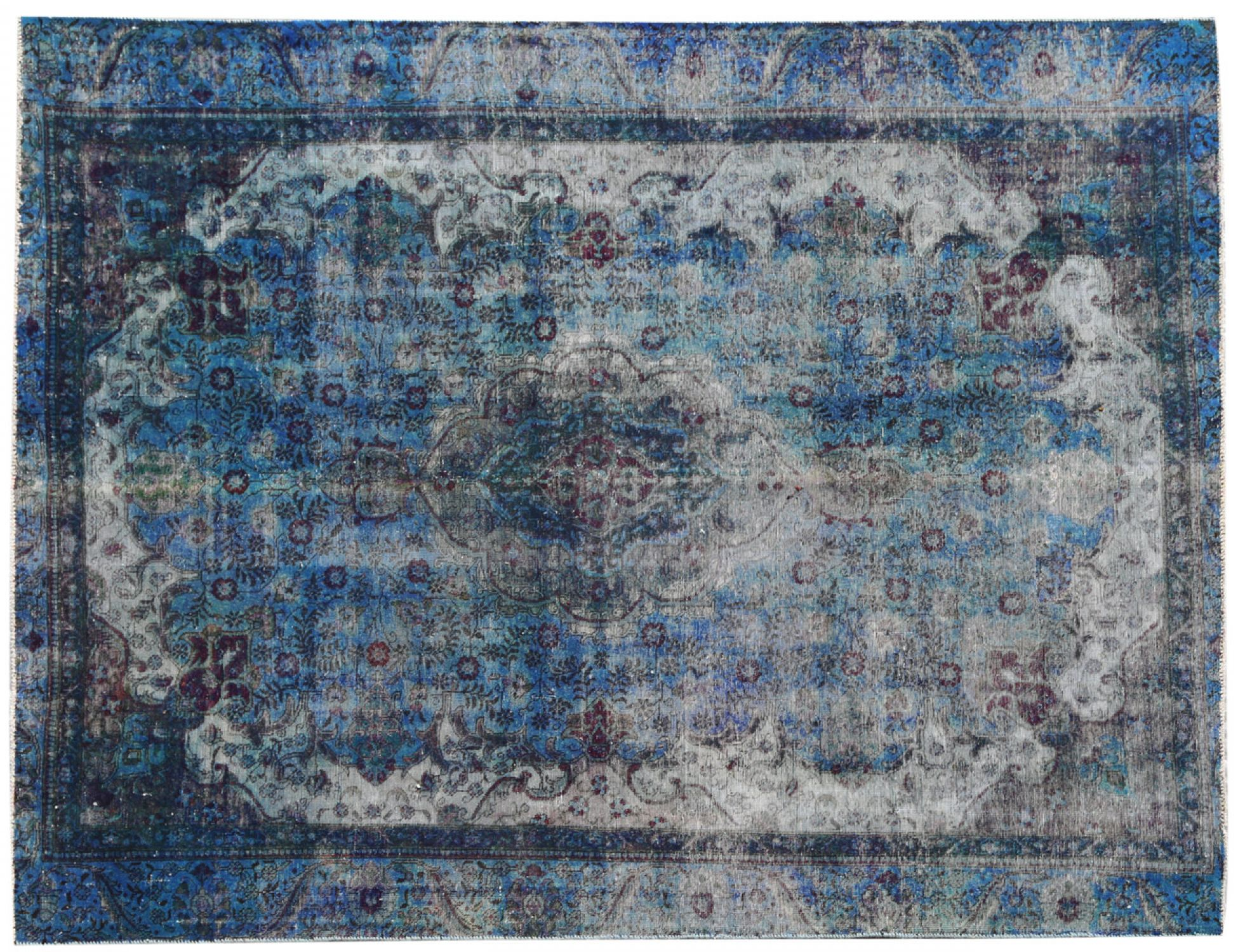 Tappeto Vintage  blu <br/>290 x 232 cm