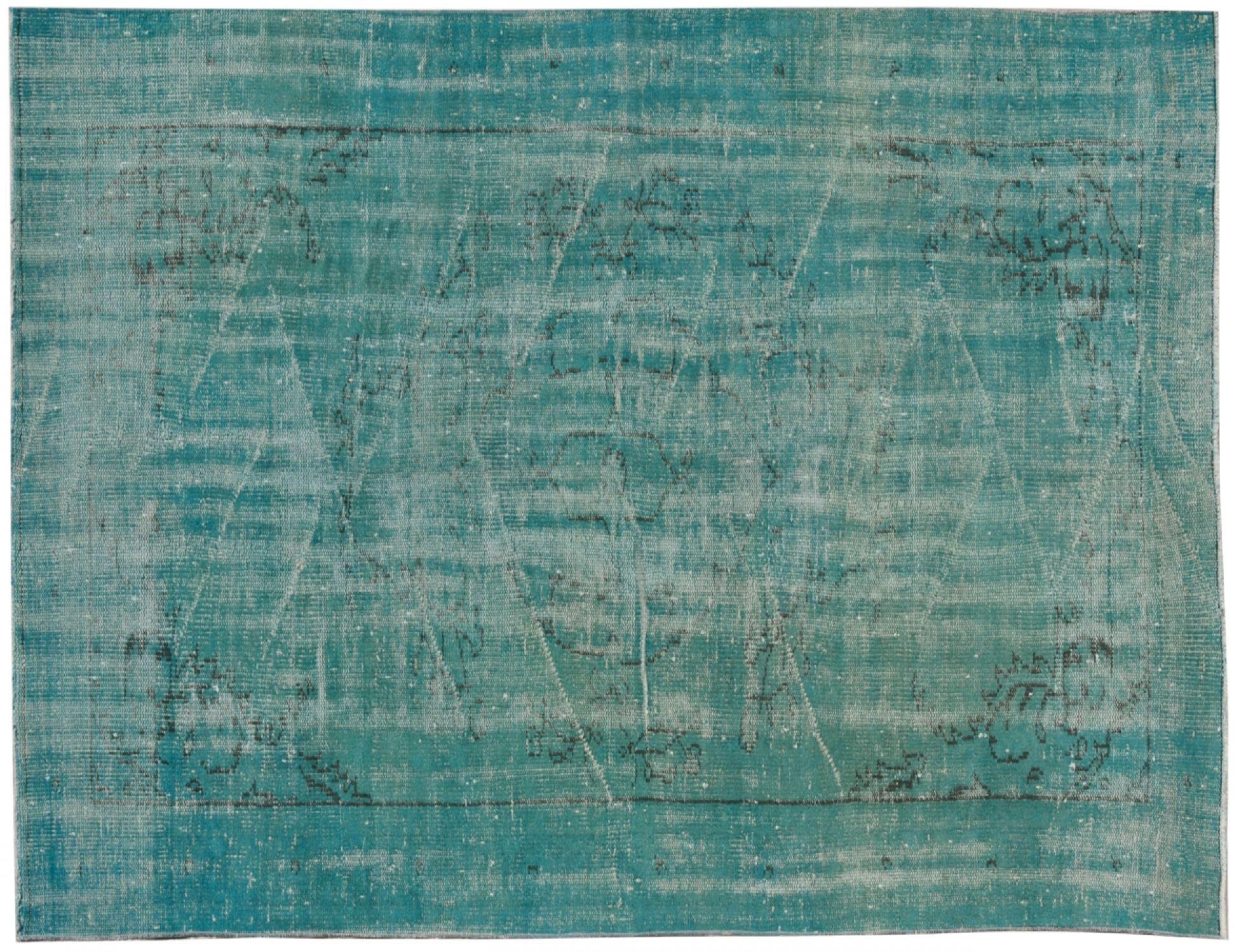 Vintage Teppich  blau <br/>249 x 146 cm
