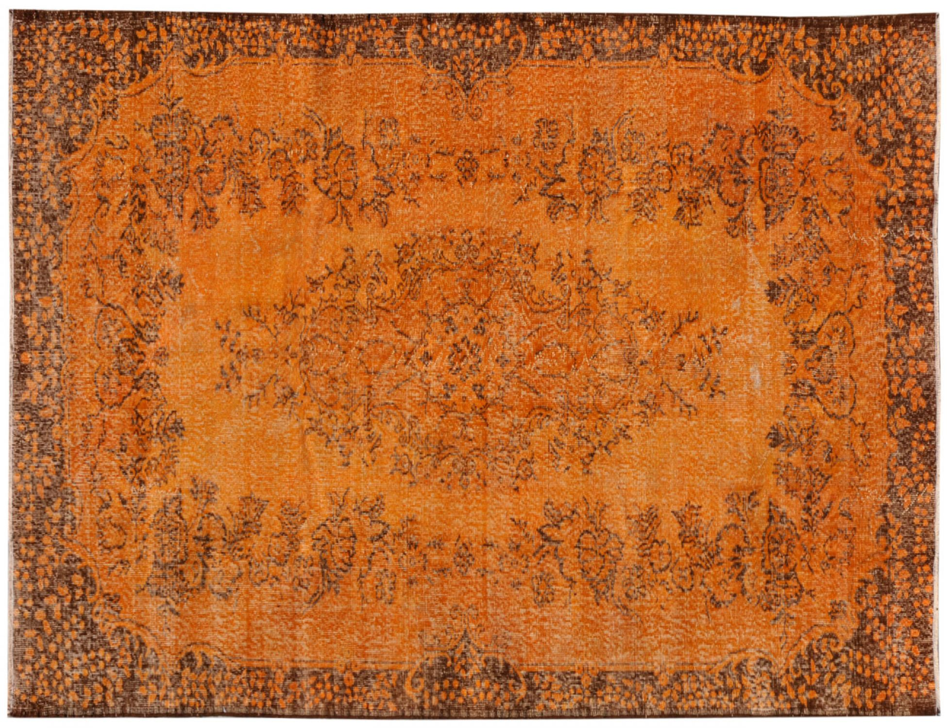 Vintage Tapis  orange <br/>306 x 183 cm