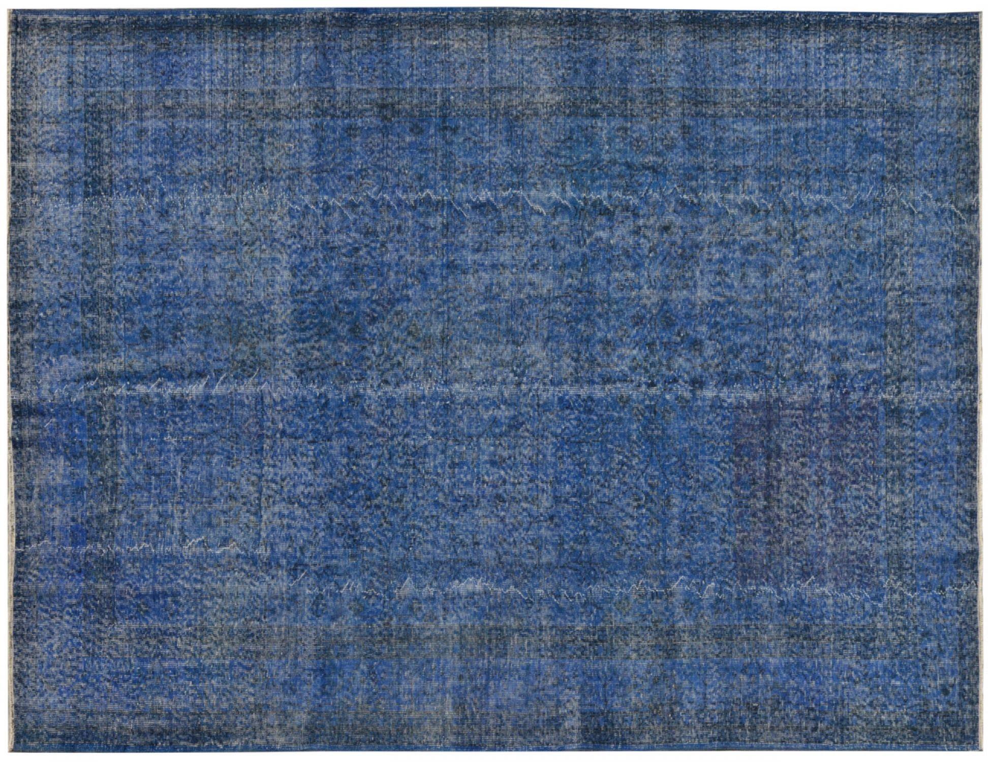 Vintage Teppich  blau <br/>300 x 211 cm