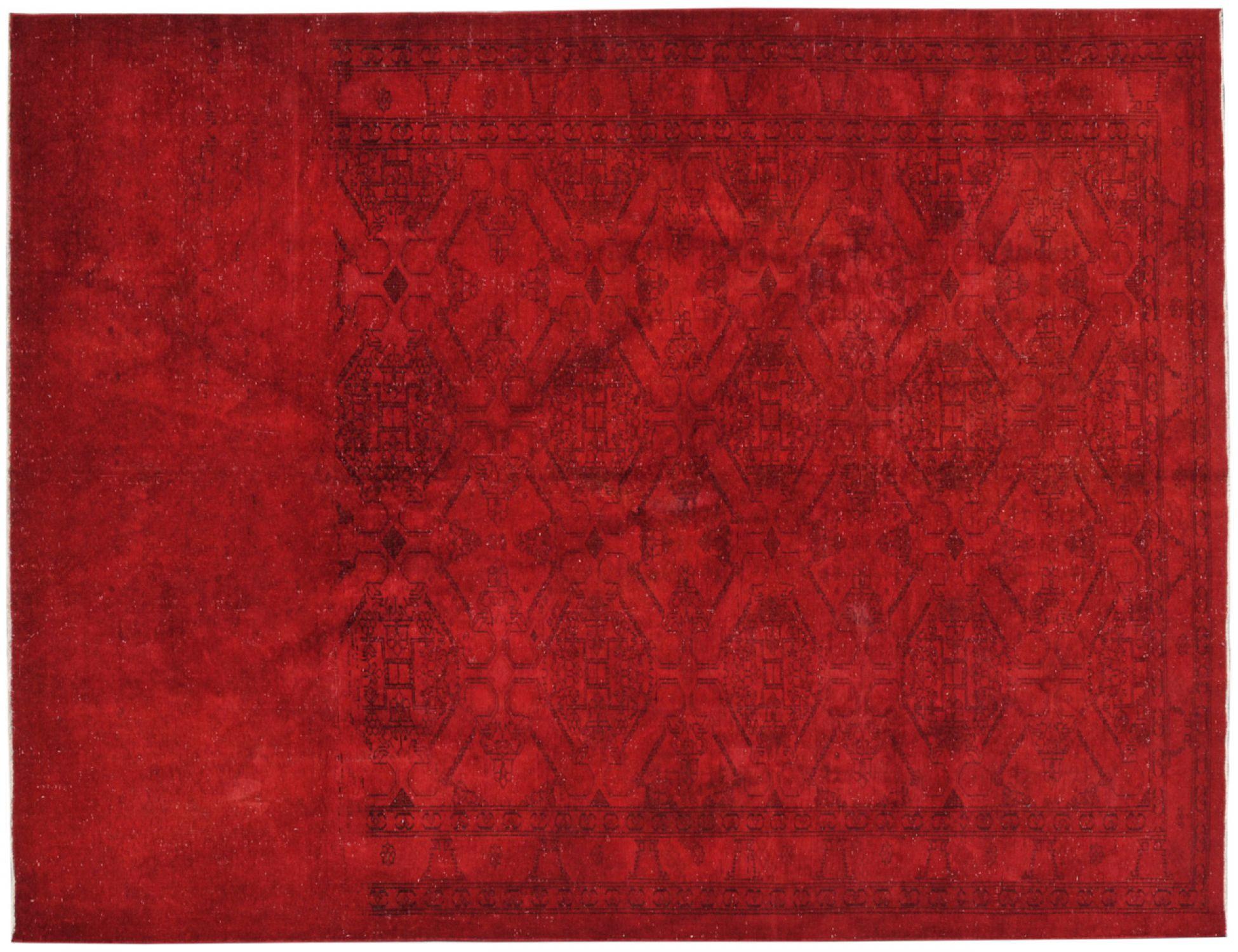 Vintage Teppich  rot <br/>290 x 191 cm