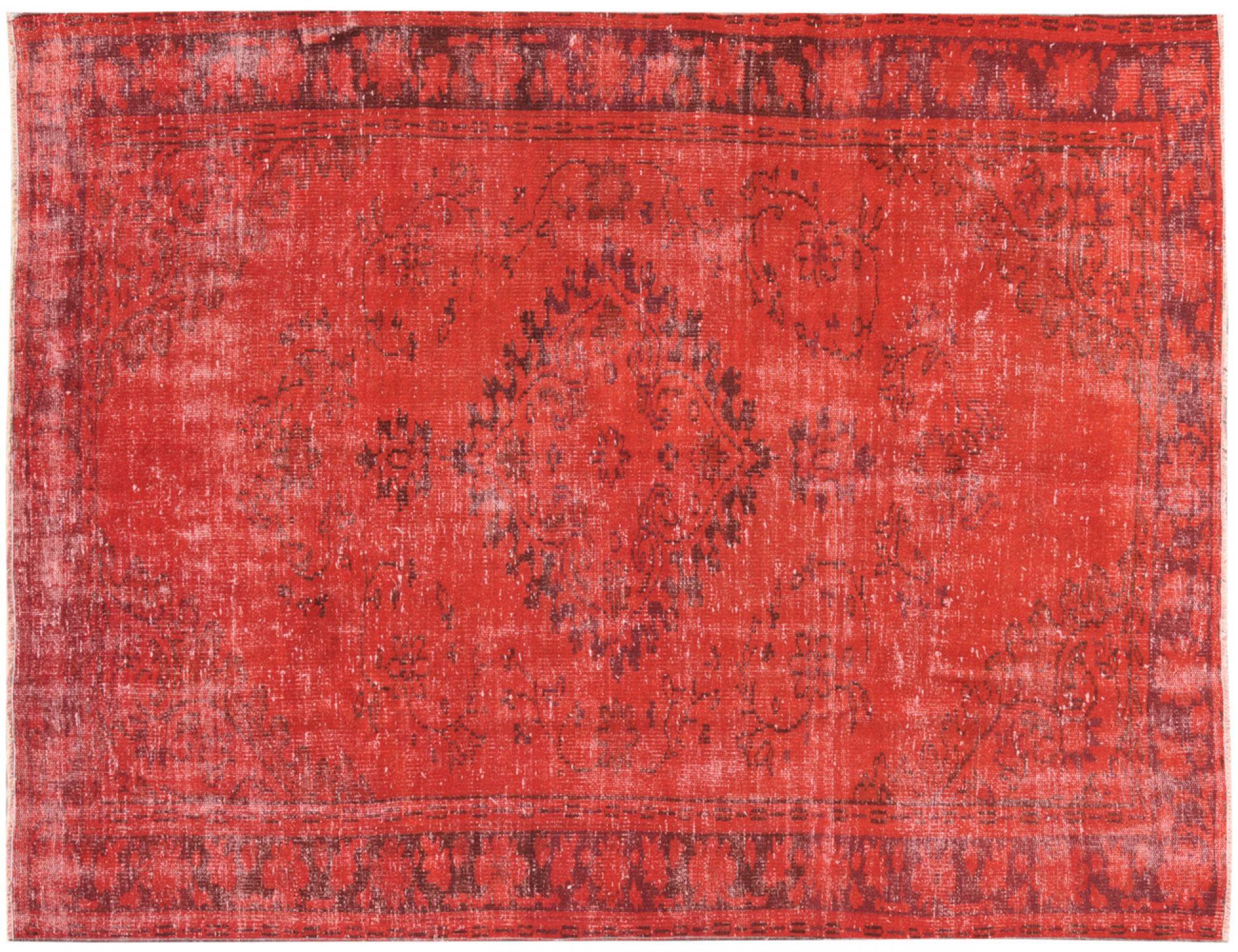 Vintage Teppich  rot <br/>247 x 180 cm