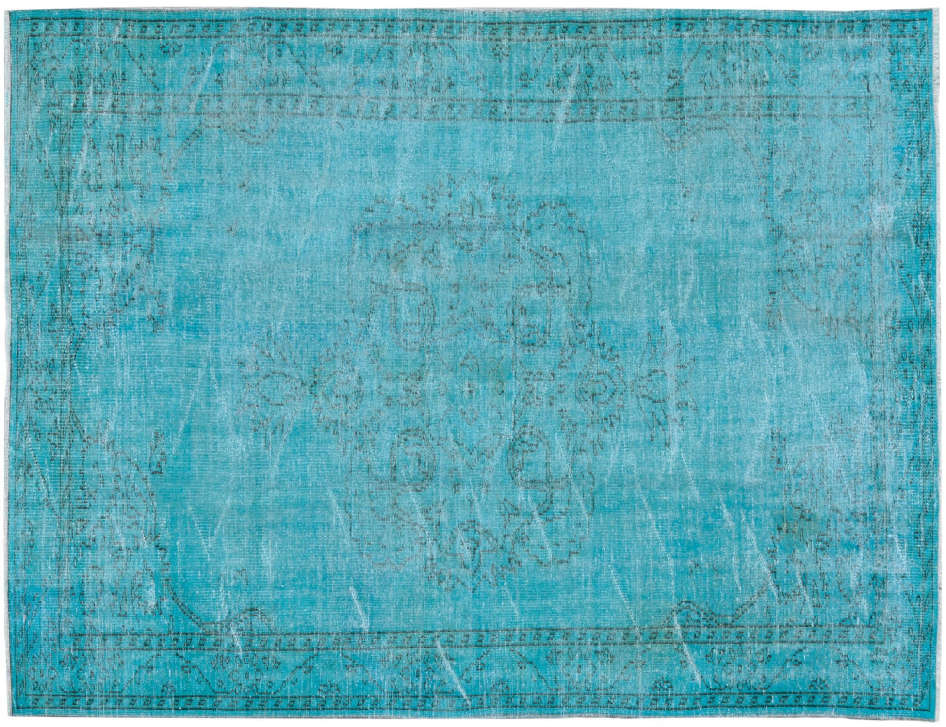 Vintage Teppich  blau <br/>270 x 167 cm