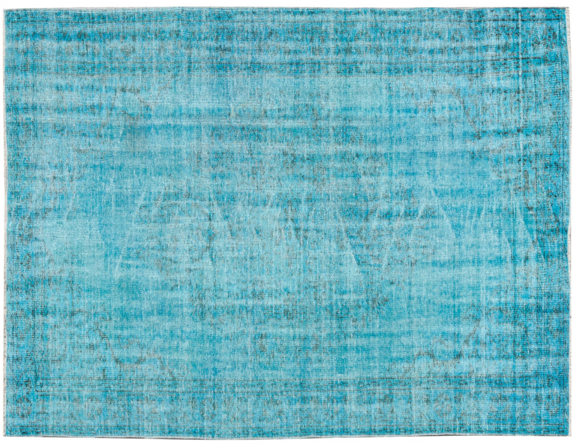 Vintage Teppich  blau <br/>253 x 161 cm