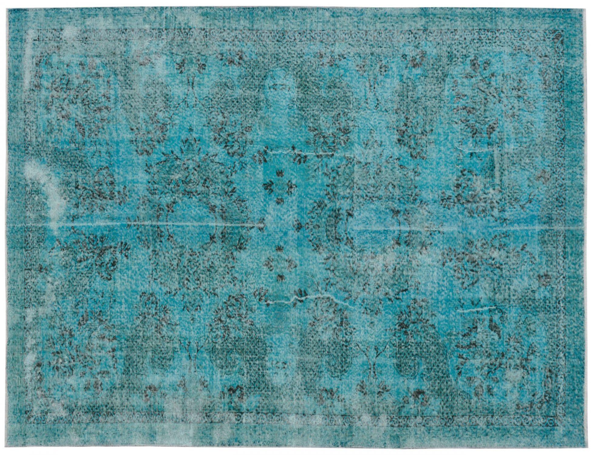 Vintage Teppich  blau <br/>299 x 190 cm