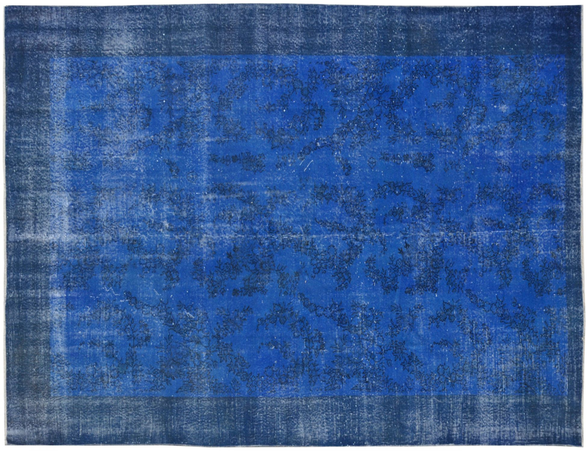 Tappeto Vintage  blu <br/>284 x 198 cm