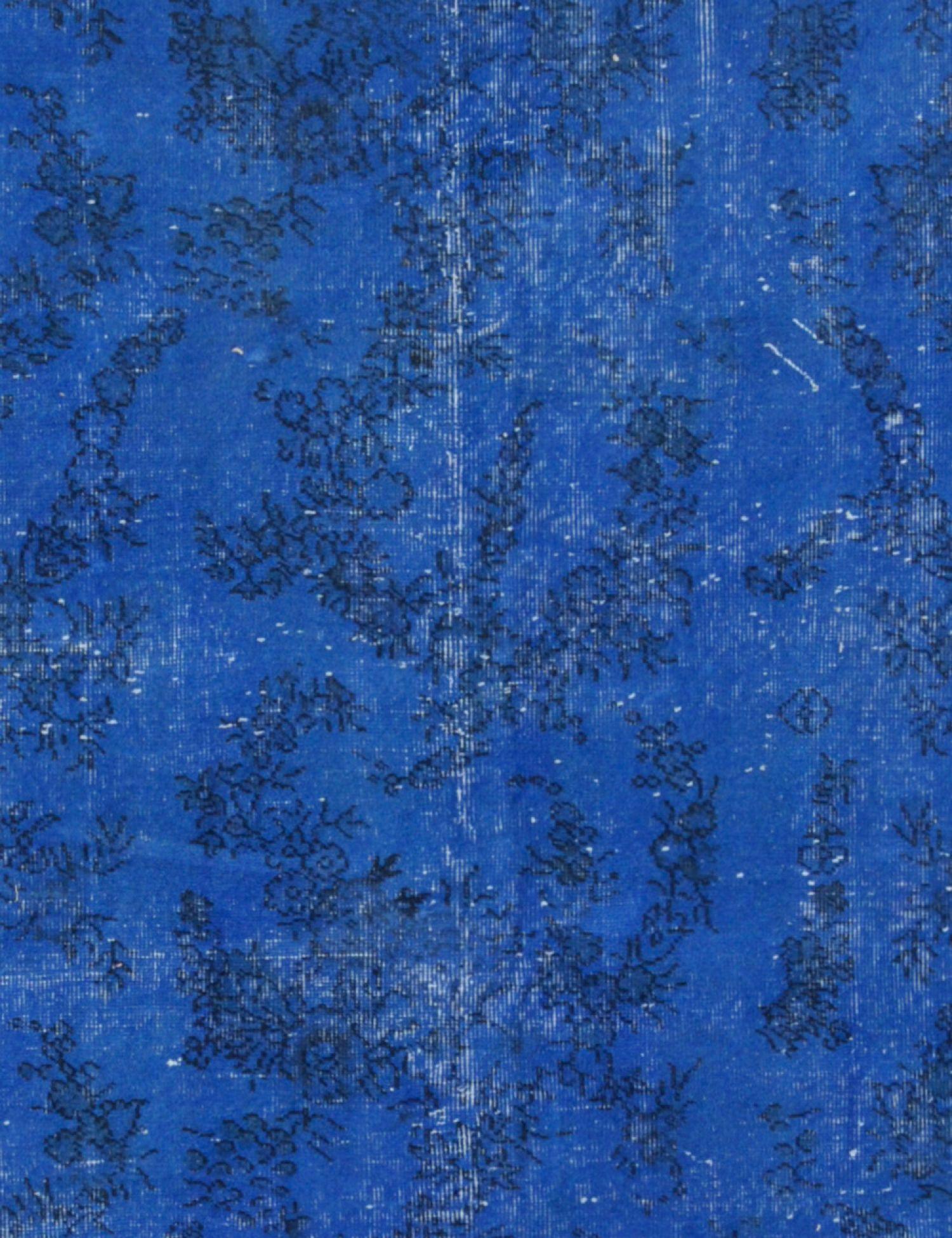 Alfombra vintage  azul <br/>284 x 198 cm
