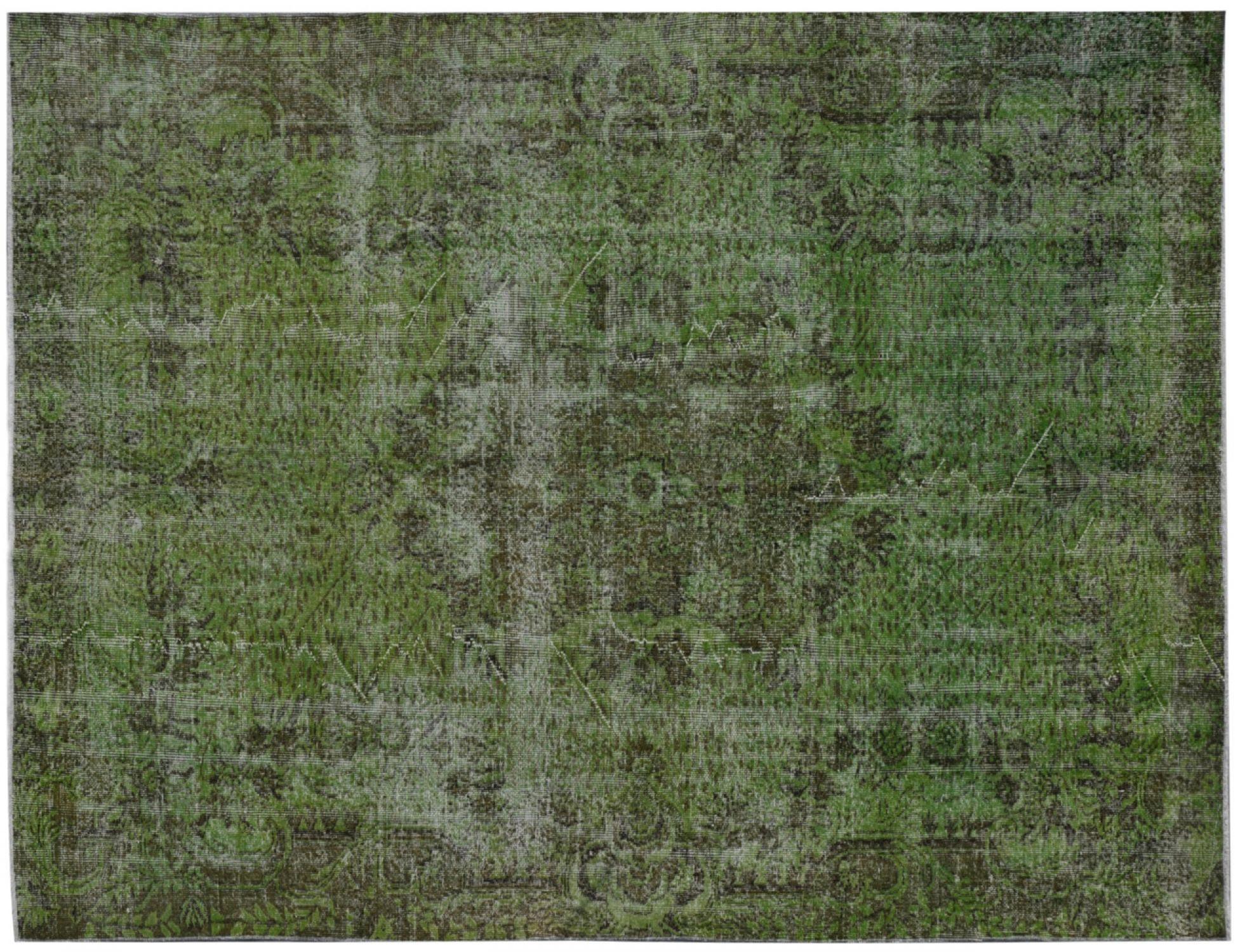Vintage Teppich  grün <br/>290 x 188 cm