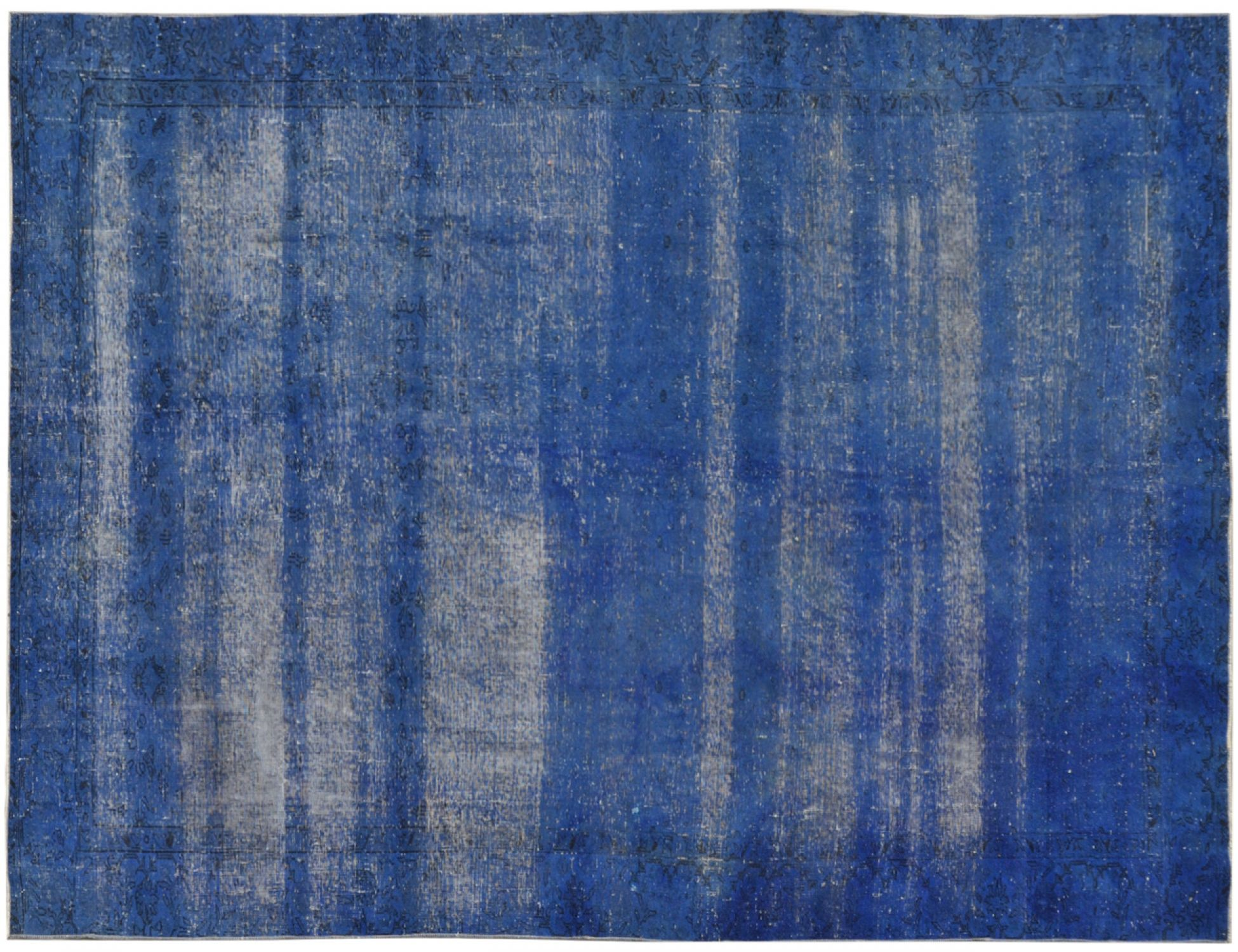 Vintage Teppich  blau <br/>289 x 177 cm