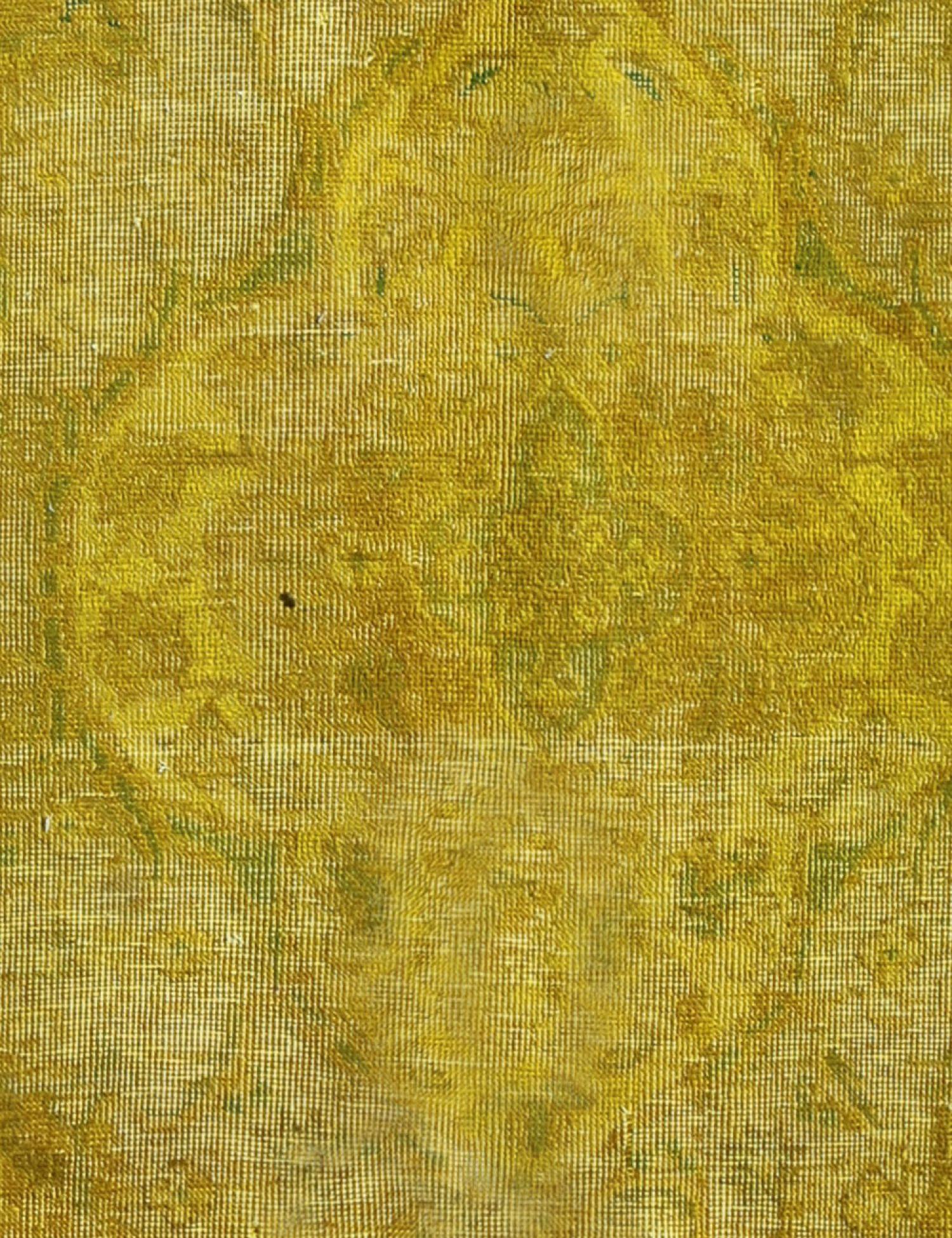 Tappeto Vintage  giallo <br/>282 x 197 cm