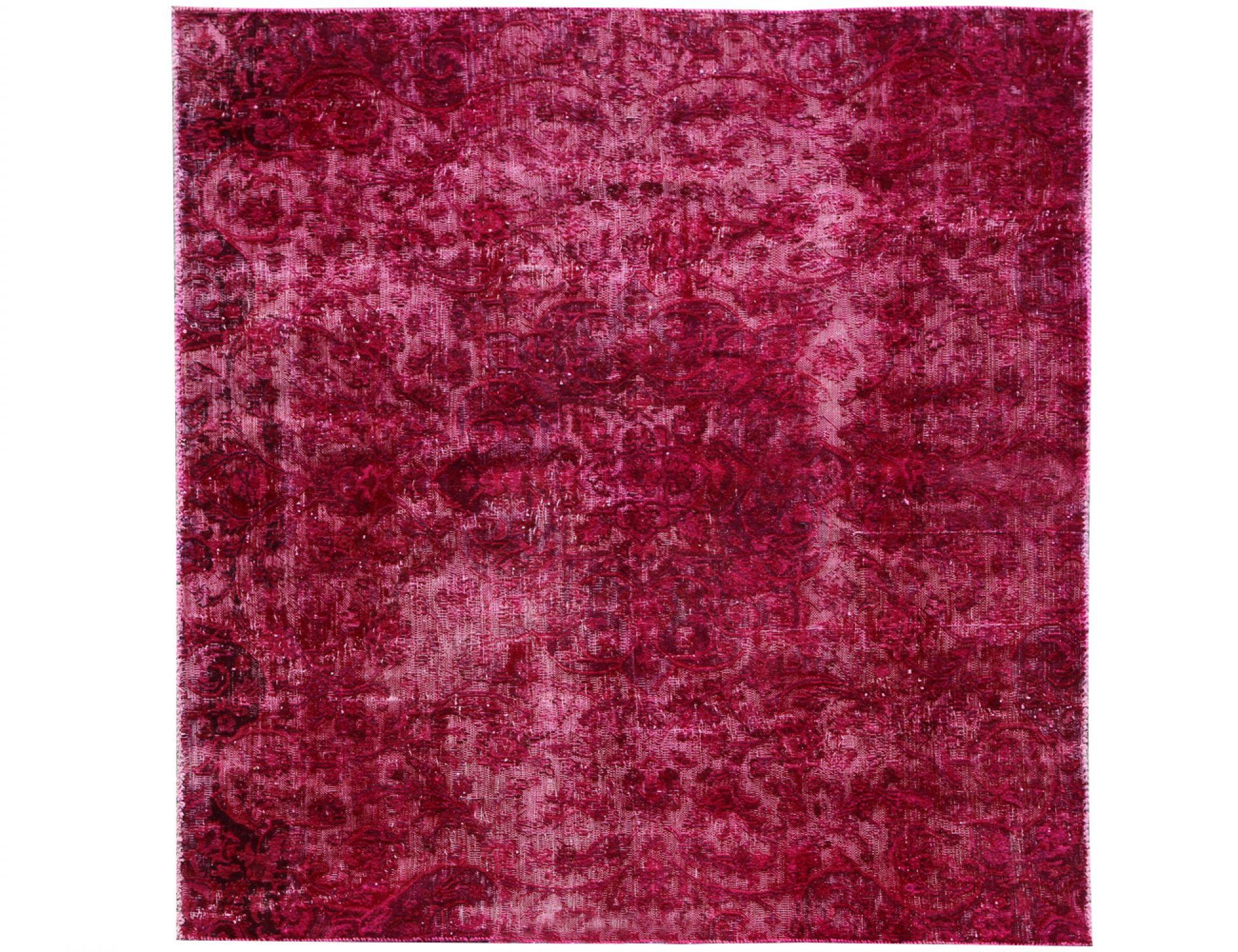 Vintage Teppich  lila <br/>184 x 173 cm