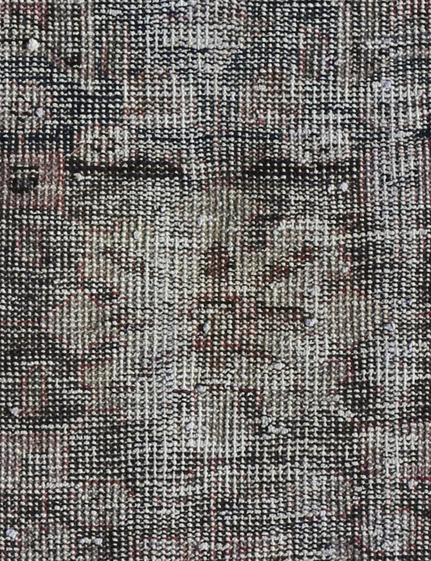 Vintage Teppich  grau <br/>133 x 82 cm