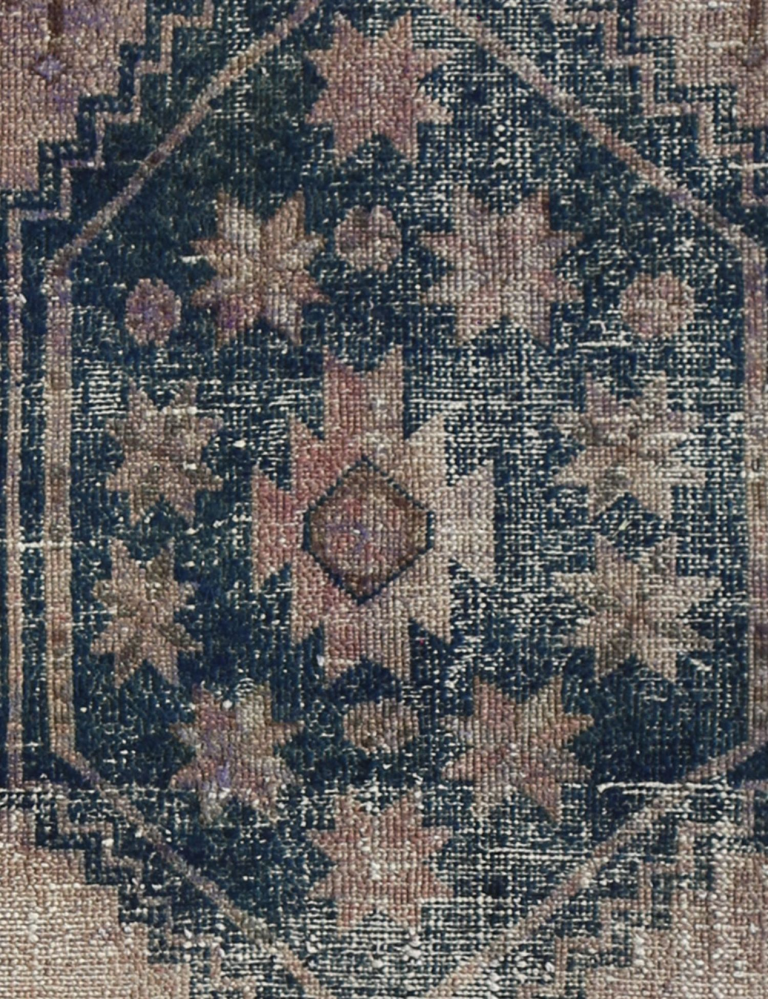 Vintage Teppich läufer  grau <br/>260 x 100 cm