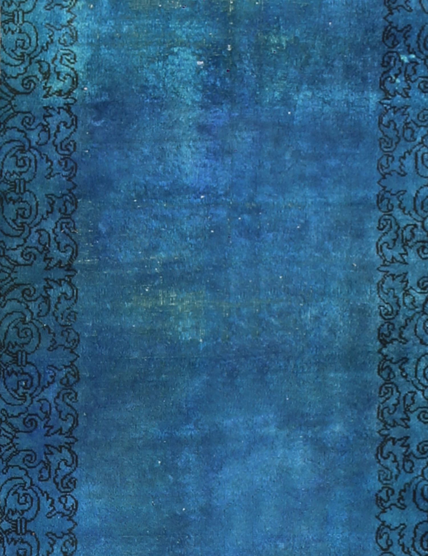 Tappeto Vintage  blu <br/>349 x 77 cm
