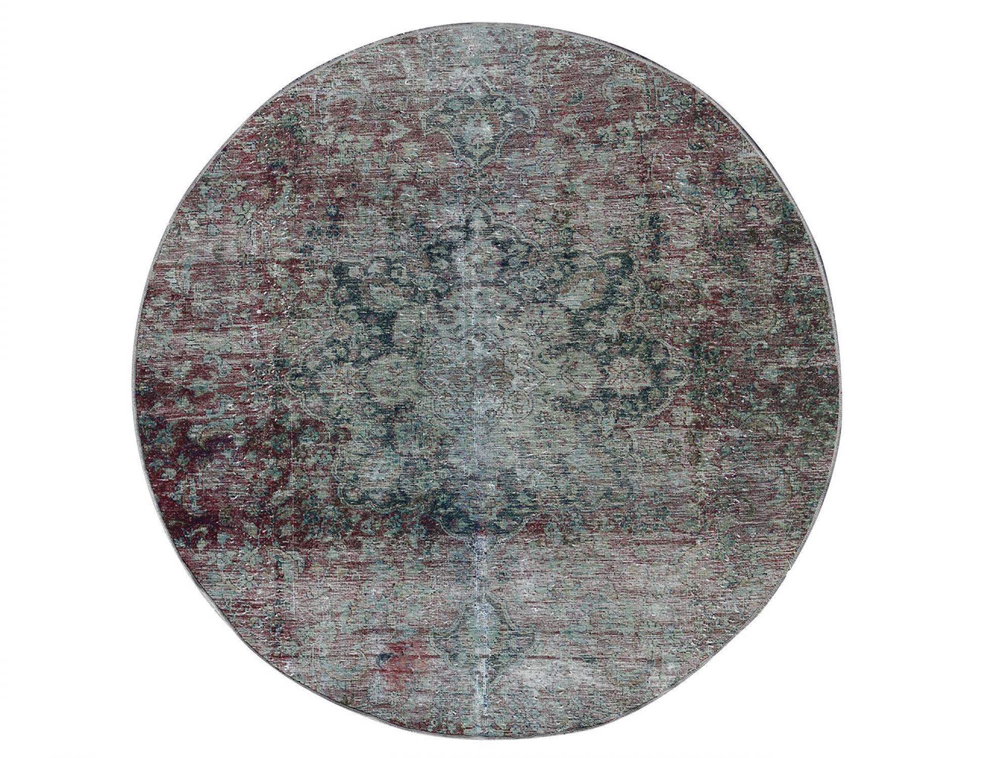 Tappeto Vintage  grigio <br/>186 x 186 cm