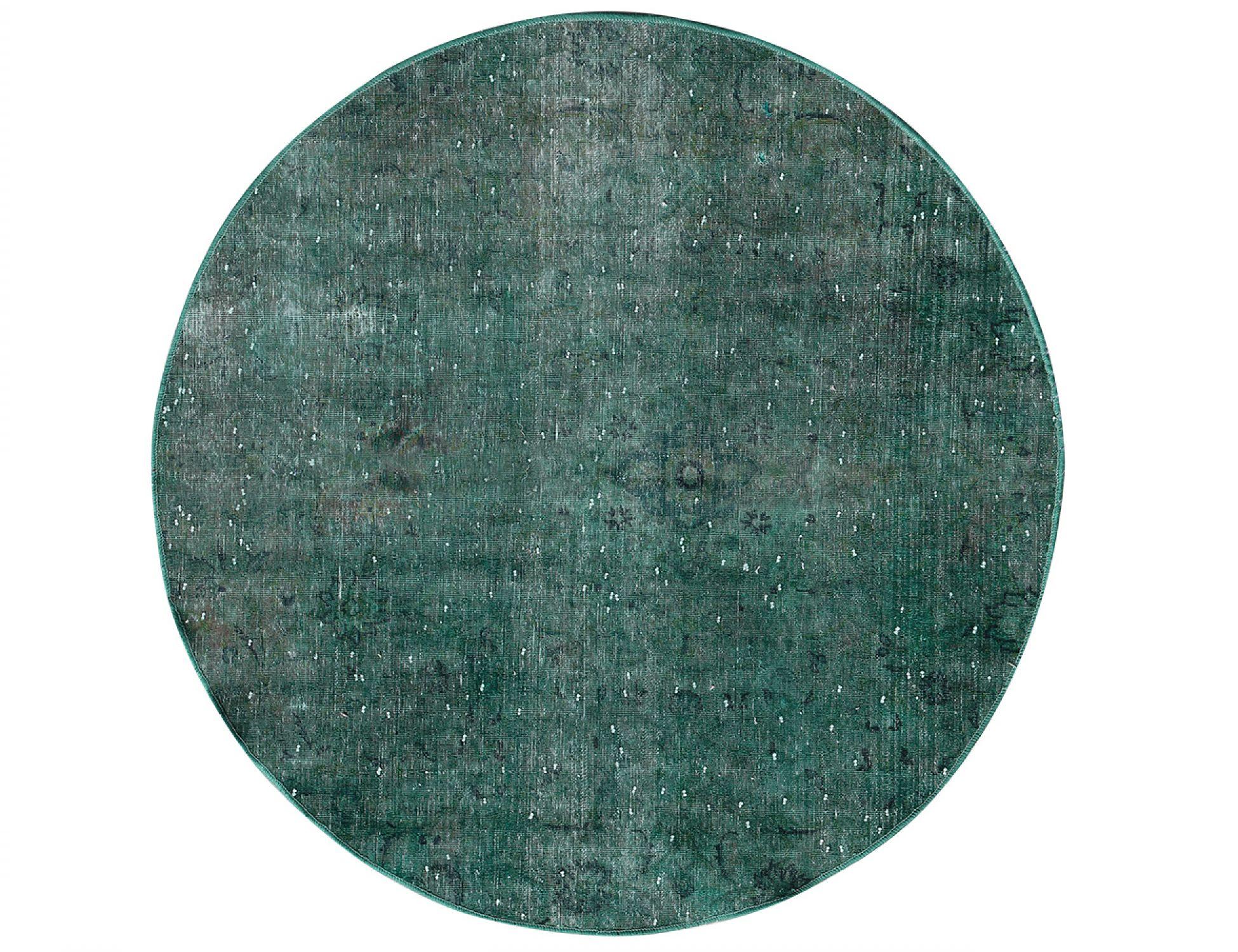 Tappeto Vintage  verde <br/>146 x 146 cm