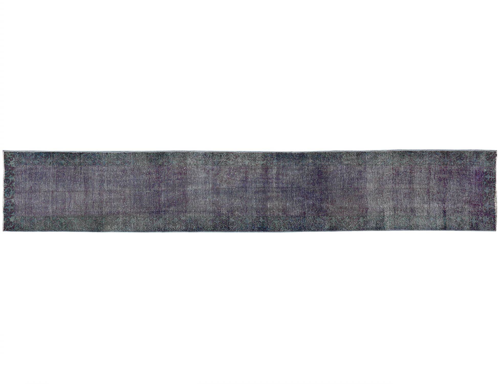 Vintage Teppich läufer  lila <br/>460 x 76 cm