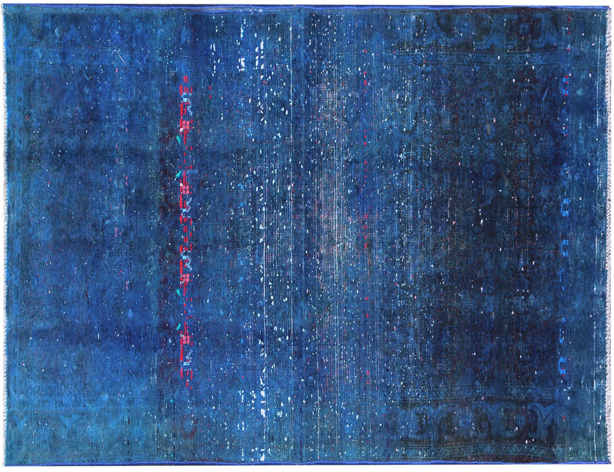 Vintage Tapis  bleu <br/>218 x 113 cm