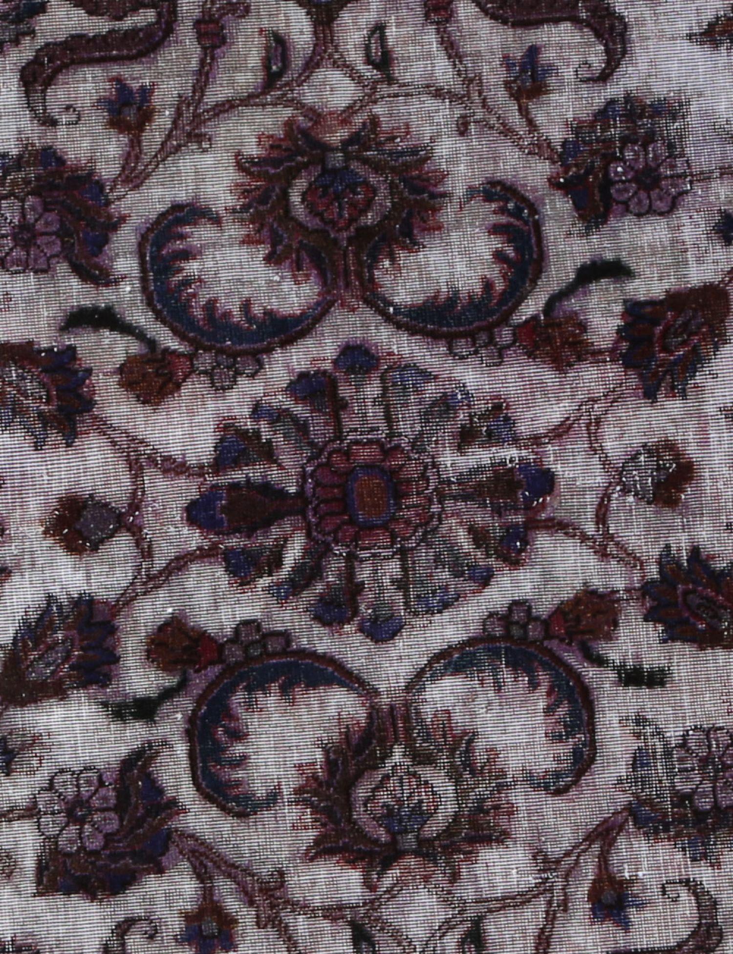 Vintage Teppich rund  grau <br/>220 x 220 cm