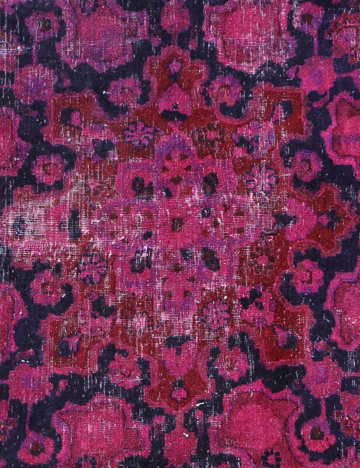Vintage Teppich rund  lila <br/>240 x 240 cm