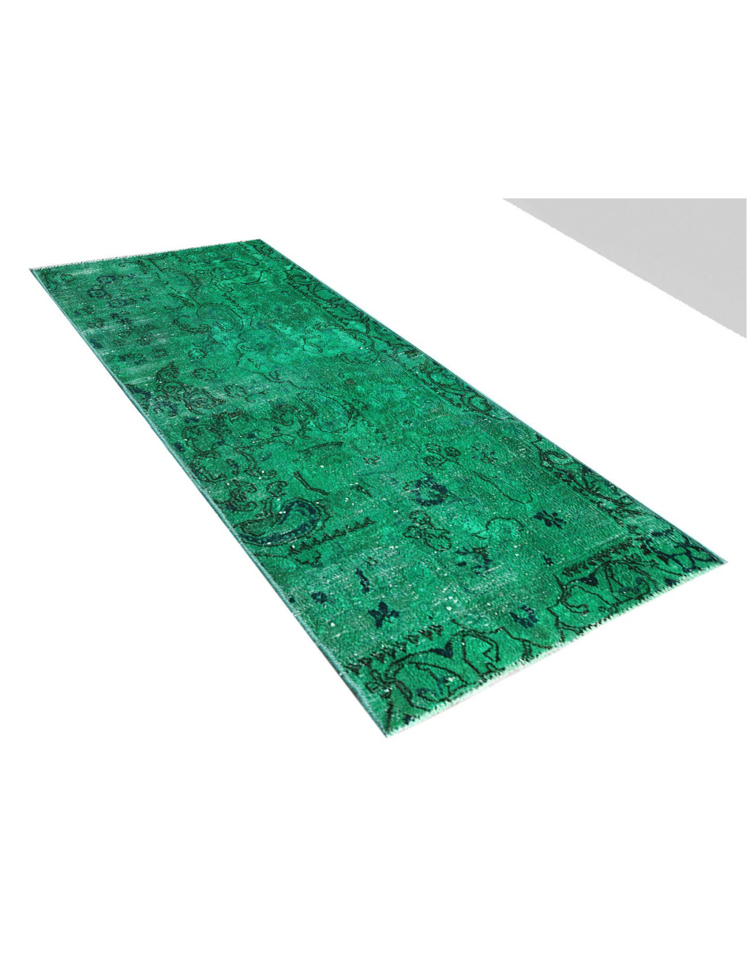 Vintage Teppich  grün <br/>156 x 78 cm