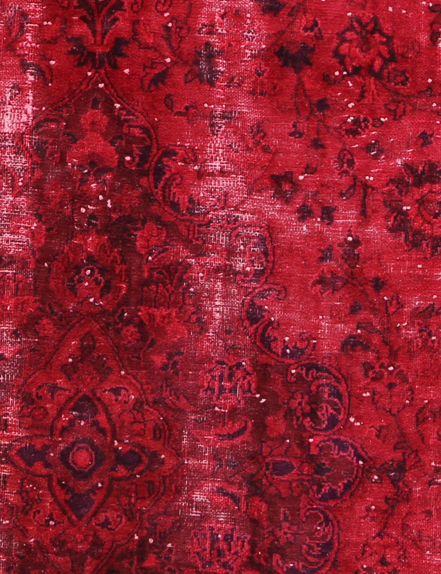 Tappeto Vintage  rosso <br/>220 x 220 cm