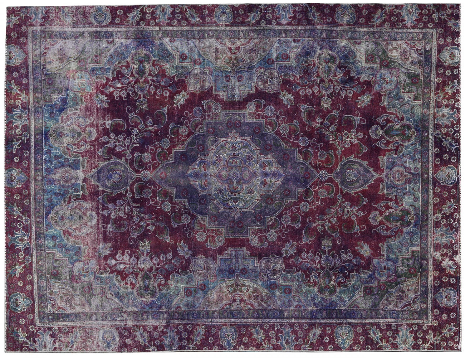 Vintage Teppich  lila <br/>372 x 270 cm