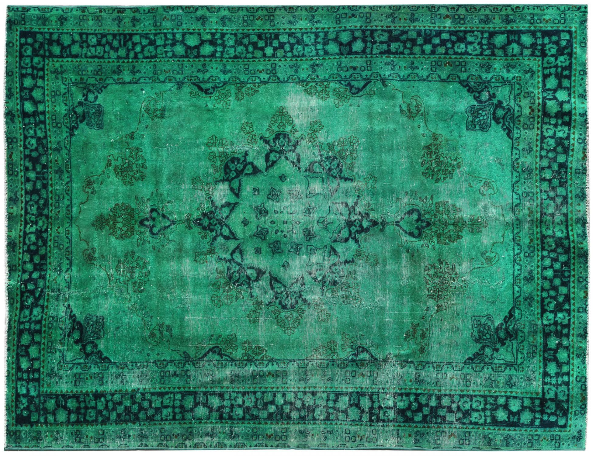 Vintage Carpet  vihreä <br/>278 x 192 cm