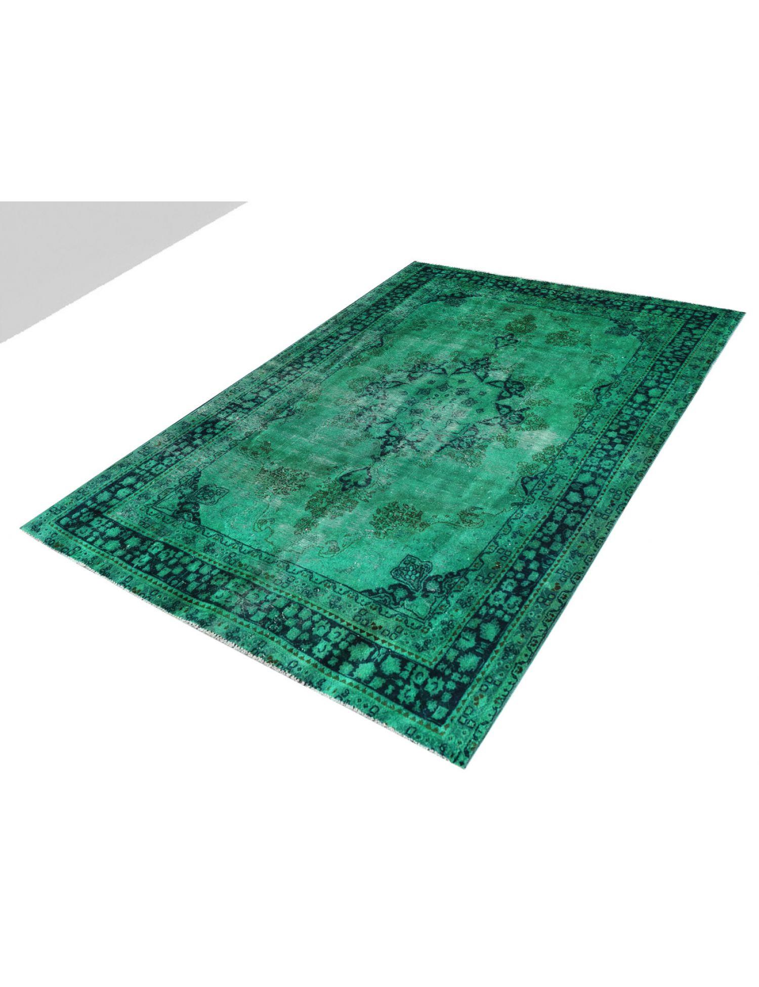 Vintage Teppich  grün <br/>278 x 192 cm