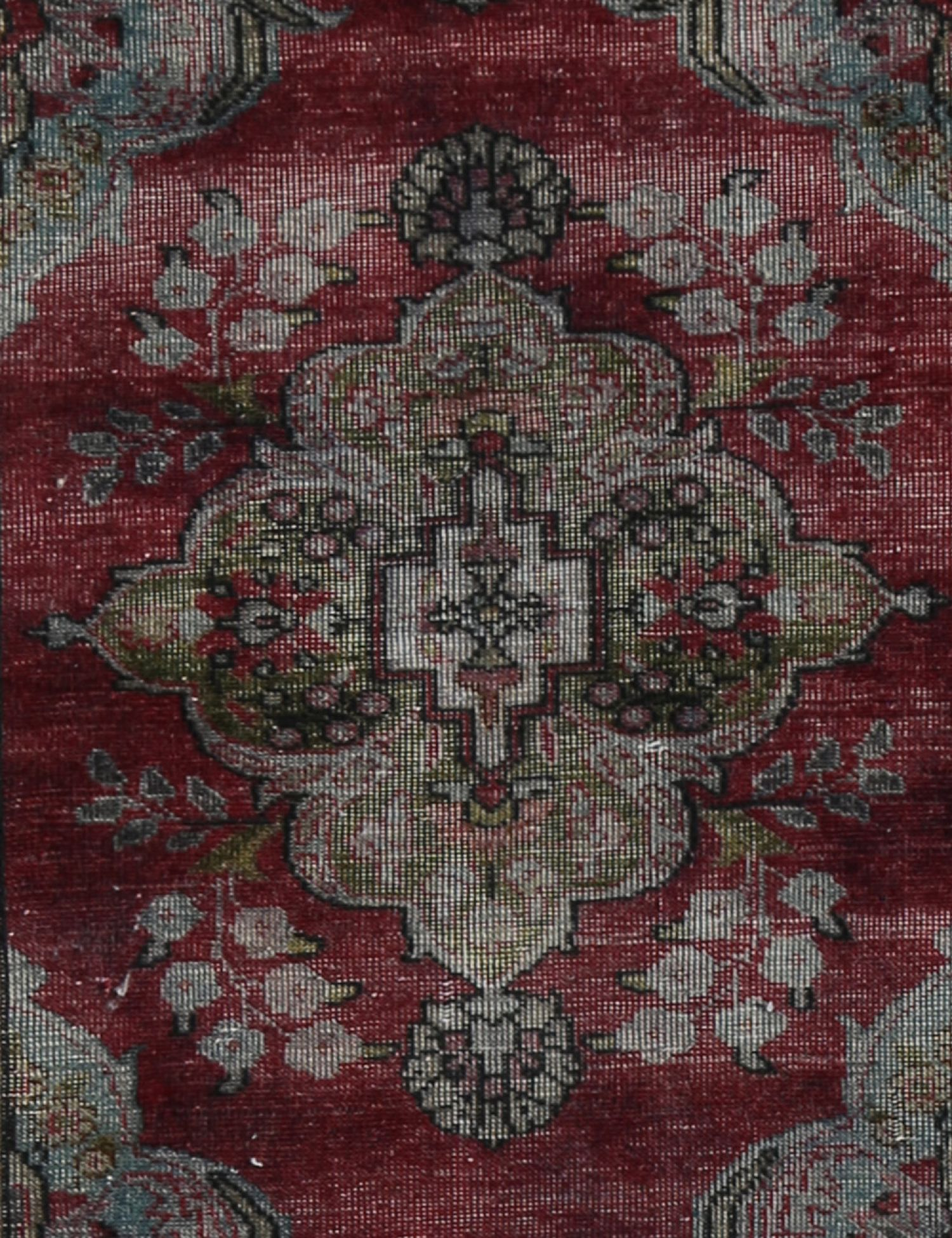 Tappeto Vintage  grigio <br/>341 x 84 cm