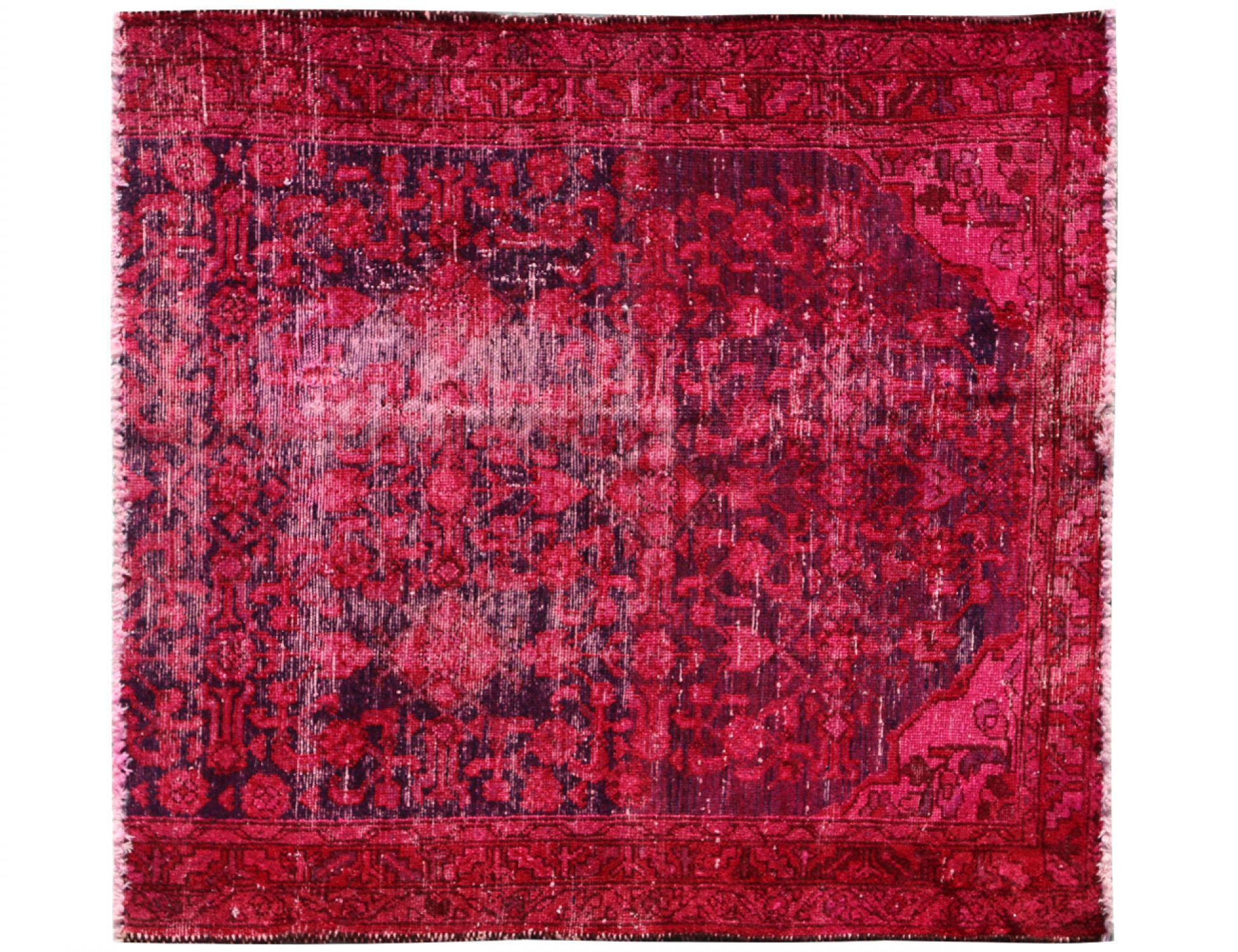 Tappeto Vintage  rosso <br/>123 x 108 cm