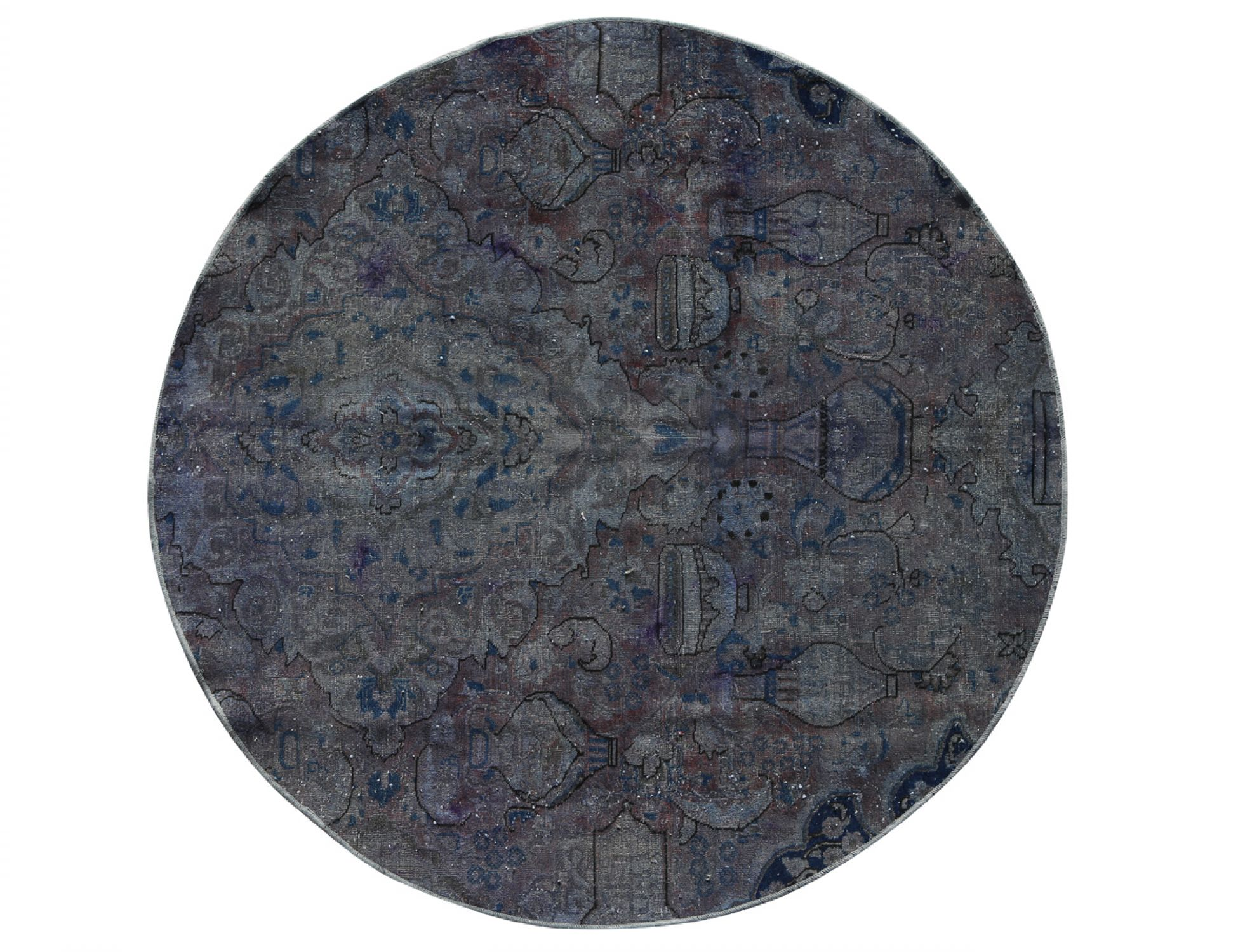 Tappeto Vintage  grigio <br/>183 x 183 cm
