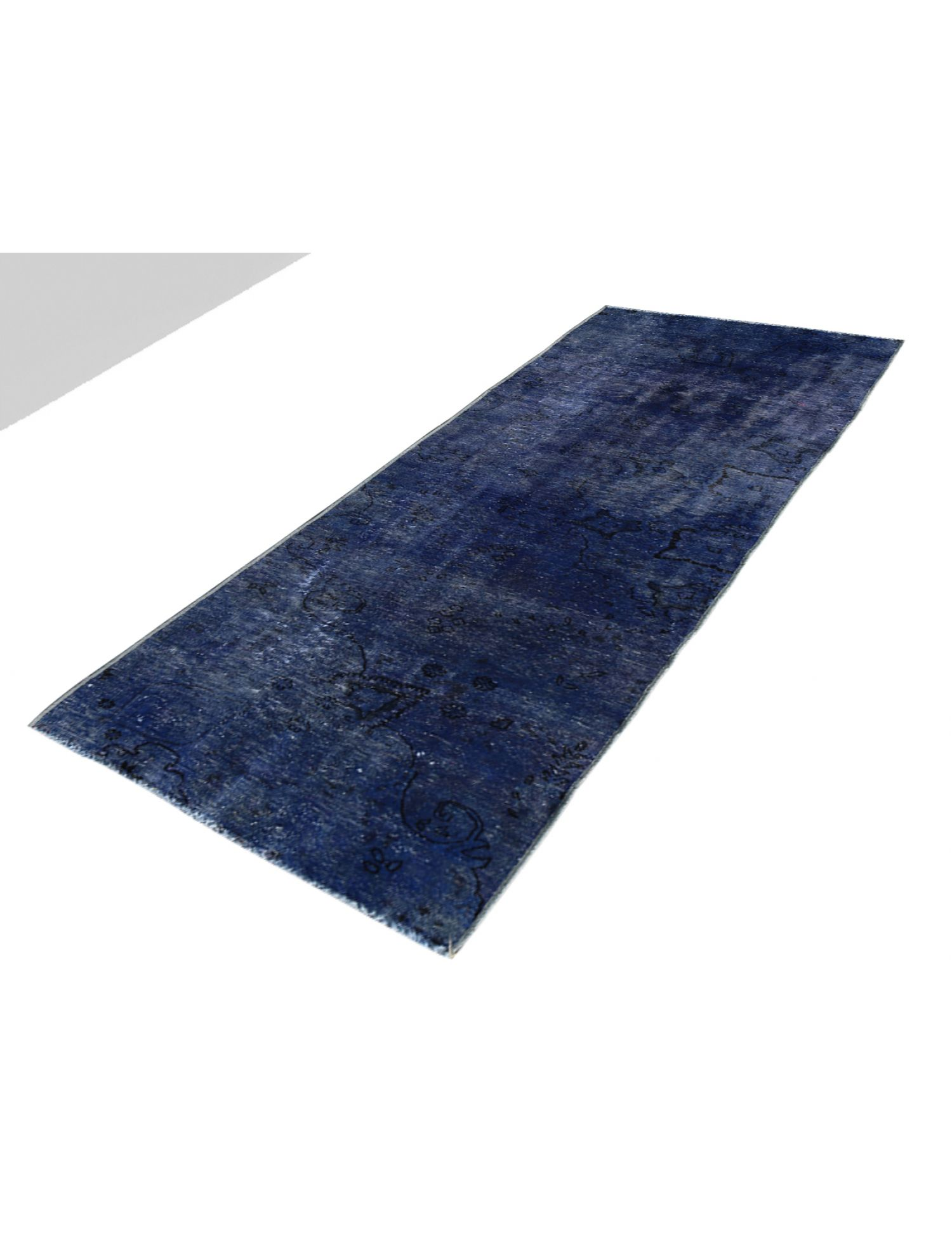 Vintage Teppich  blau <br/>279 x 83 cm