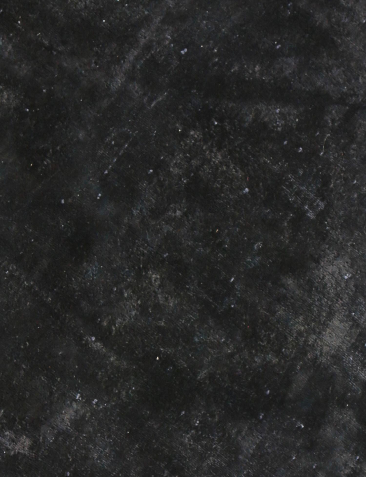 Tappeto Vintage  nero <br/>222 x 222 cm
