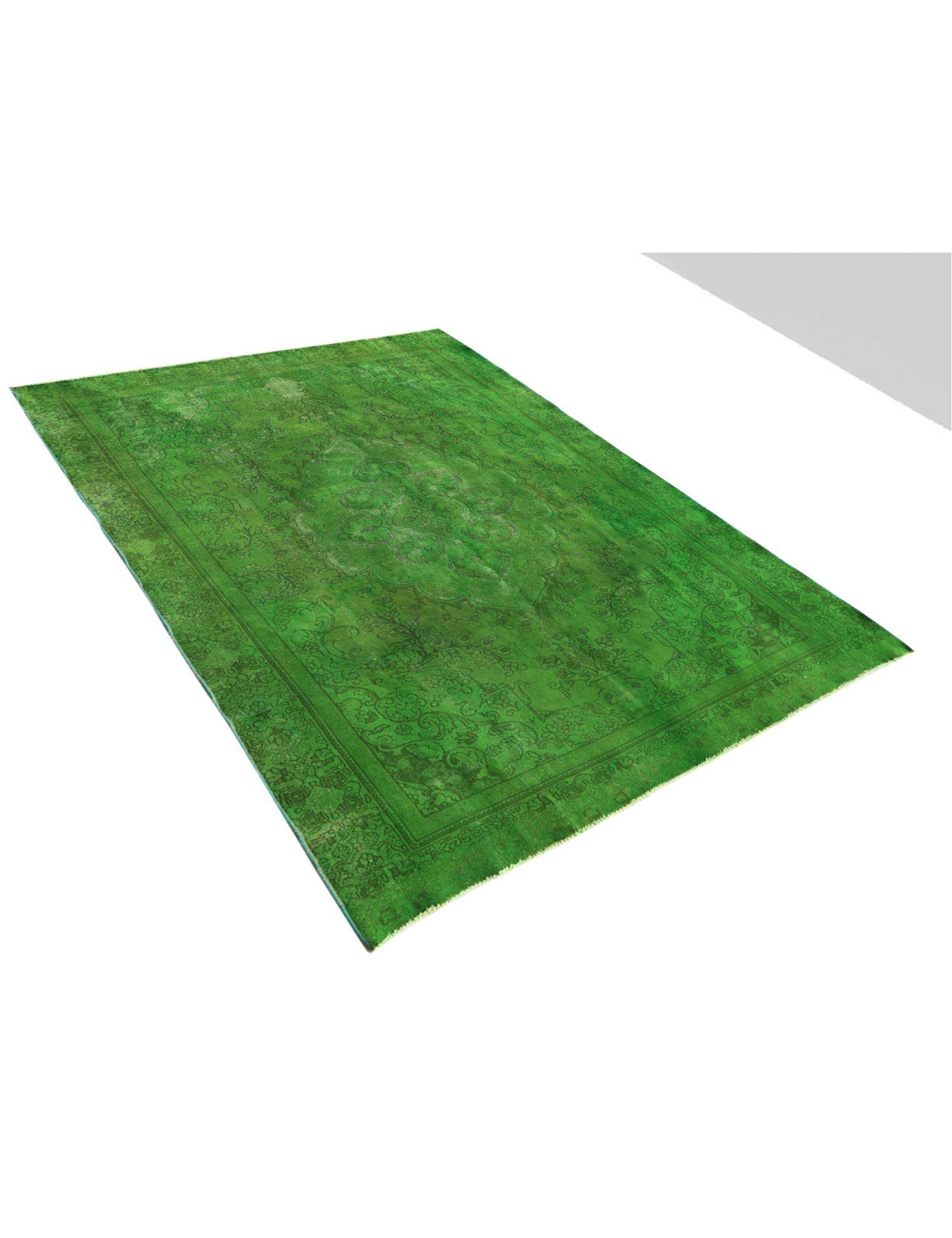 Tappeto Vintage  verde <br/>367 x 254 cm