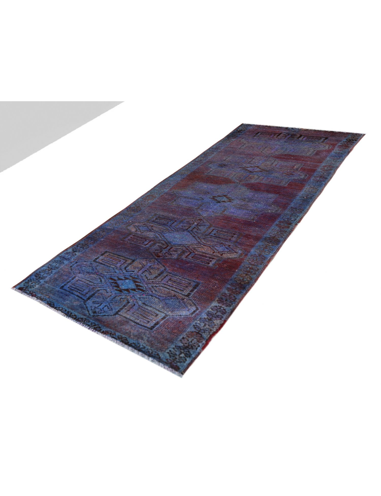 Tappeto Vintage  blu <br/>320 x 86 cm