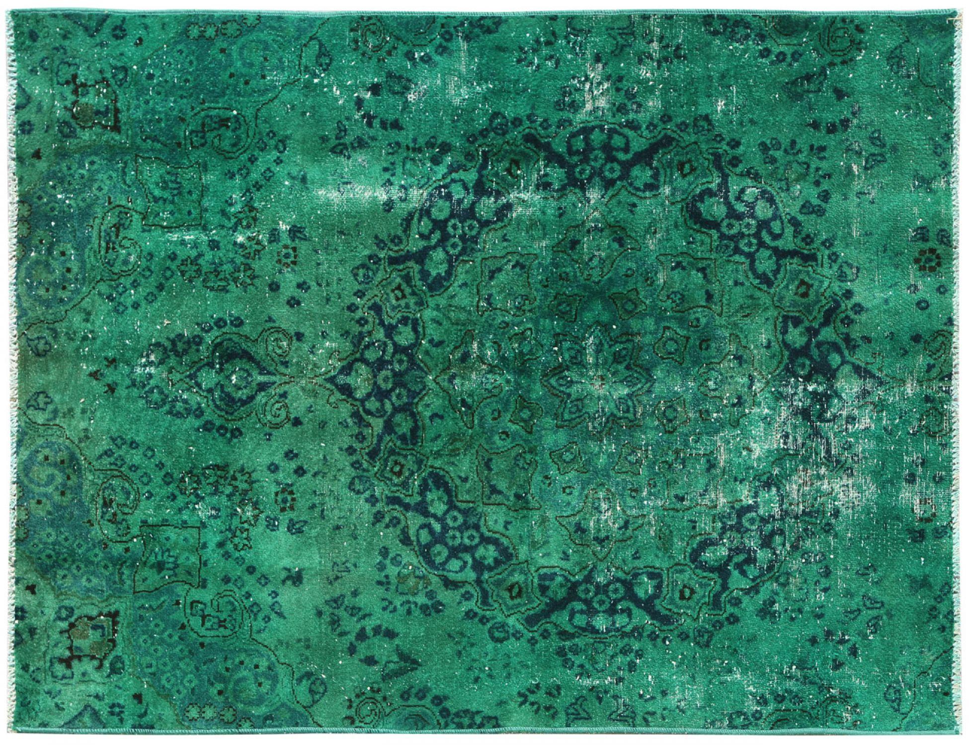 Tappeto Vintage  verde <br/>178 x 142 cm