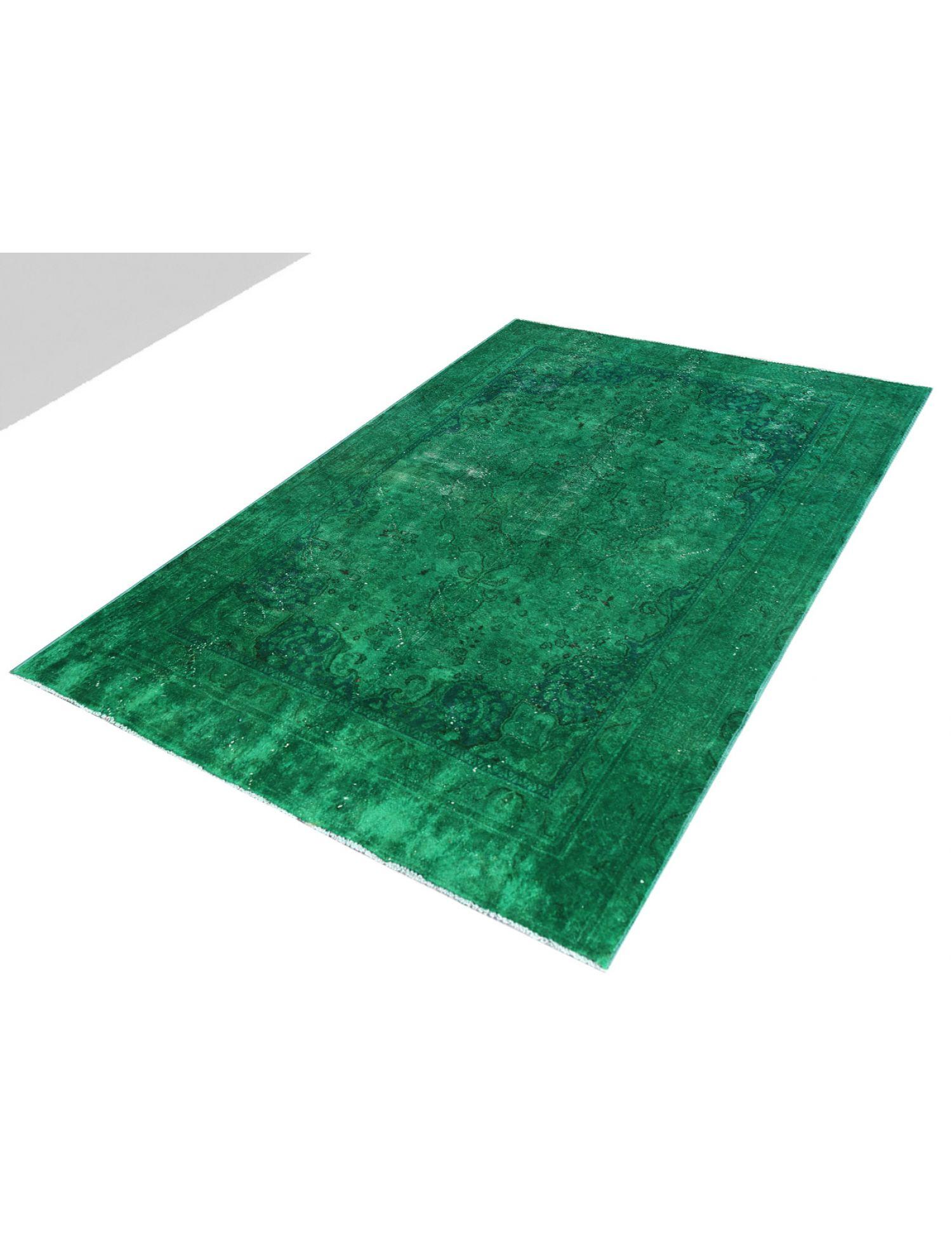 Tappeto Vintage  verde <br/>255 x 181 cm