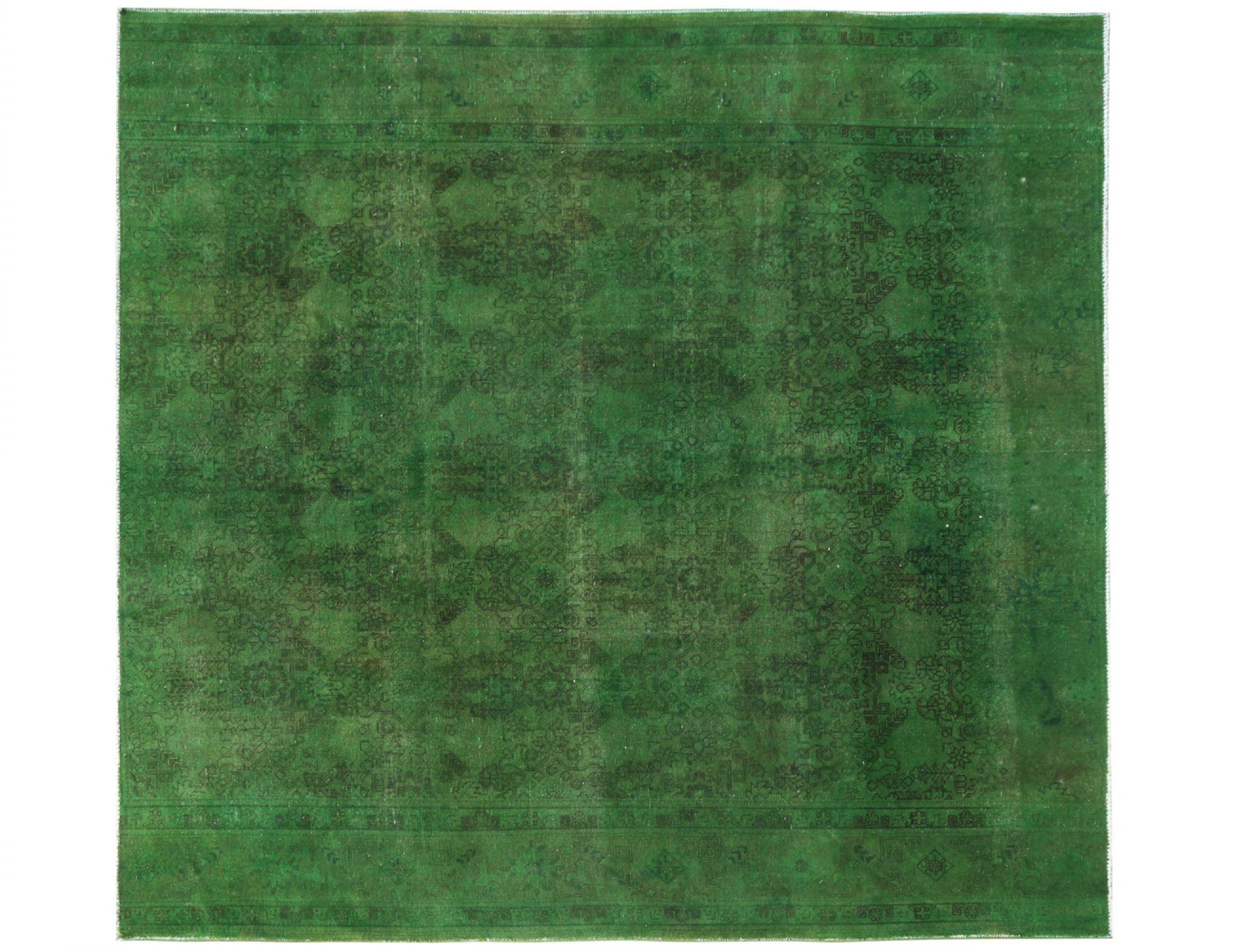 Tappeto Vintage  verde <br/>298 x 294 cm